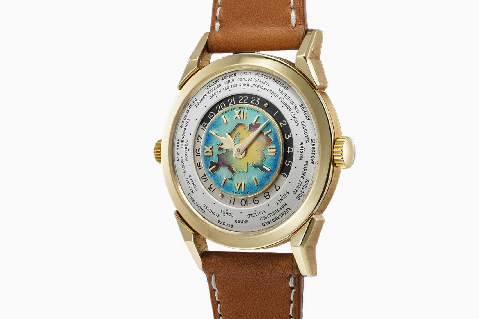 most expensive watches patek philippe two crown worldtime ref 2523 - Luxe Digital