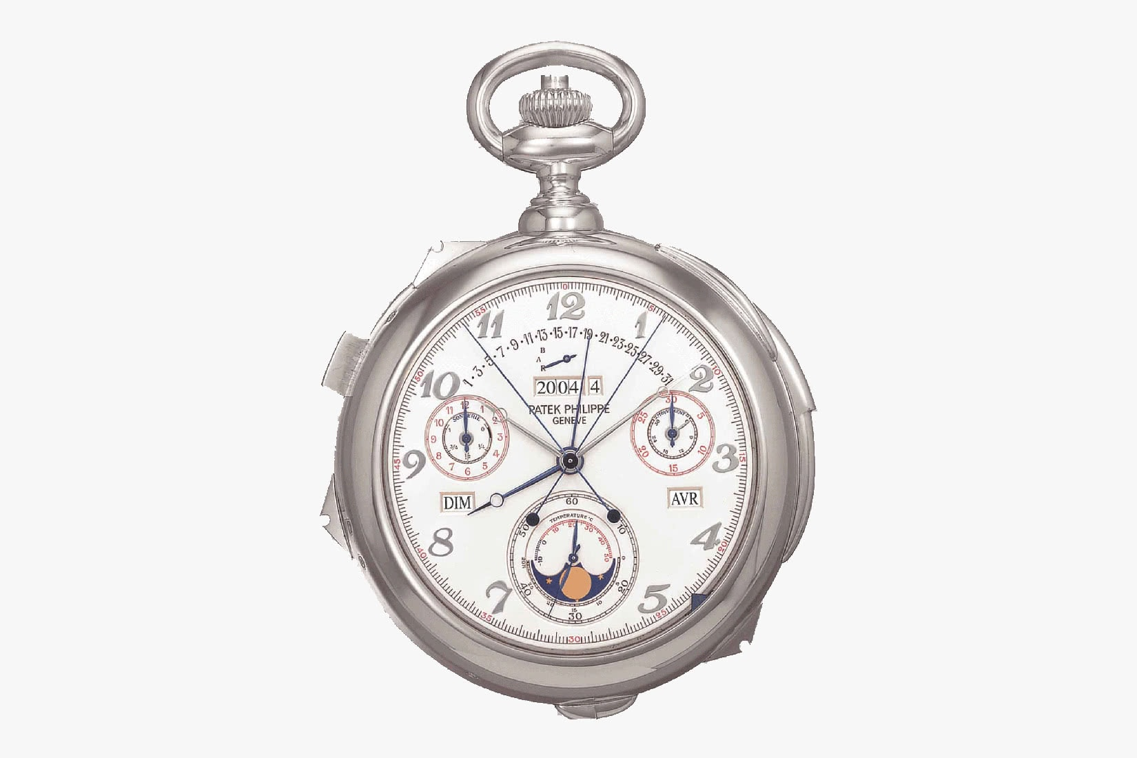 most expensive watches patek philippe white gold calibre 89 - Luxe Digital