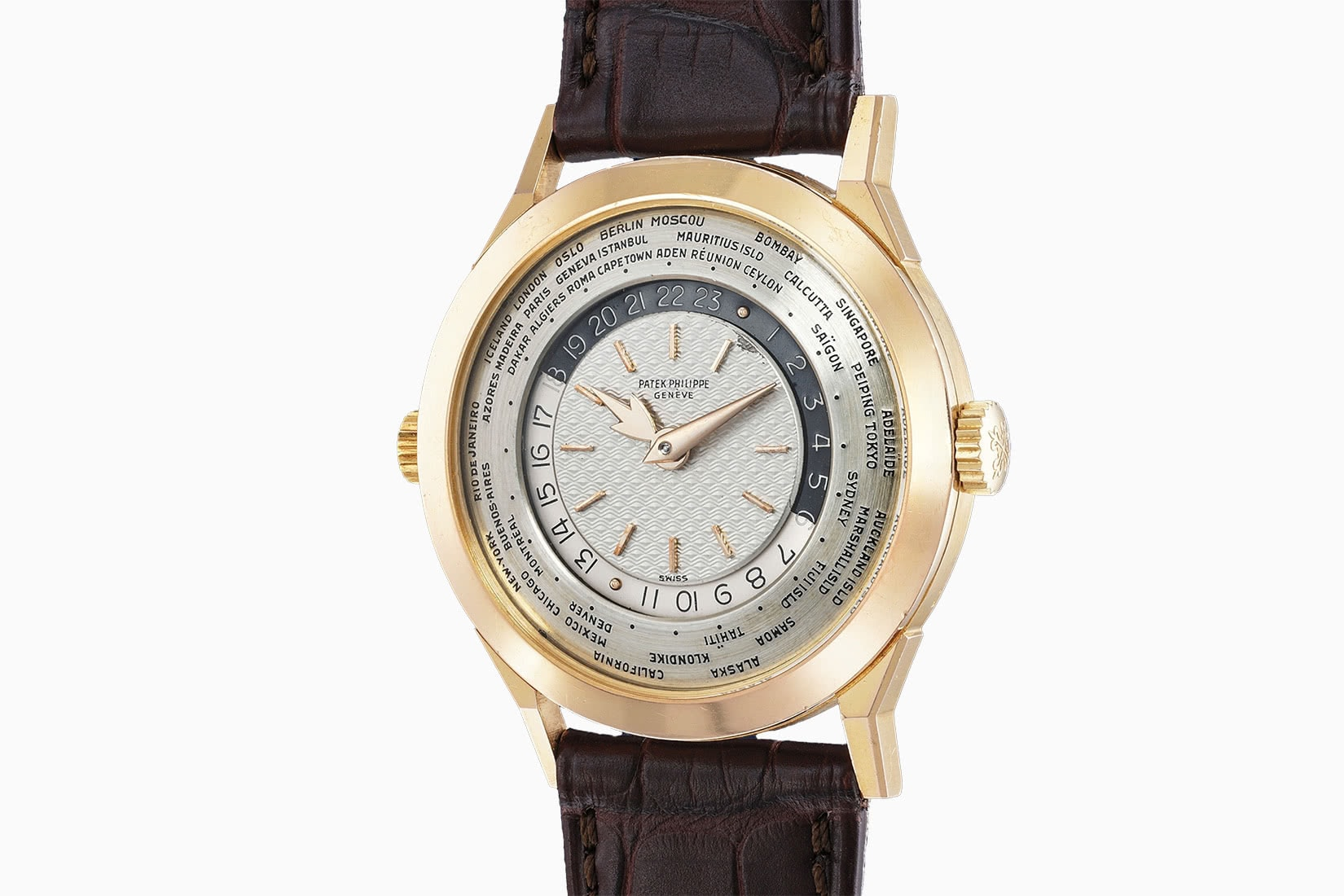 most expensive watches patek philippe worldtimer guilloche ref 2523 - Luxe Digital