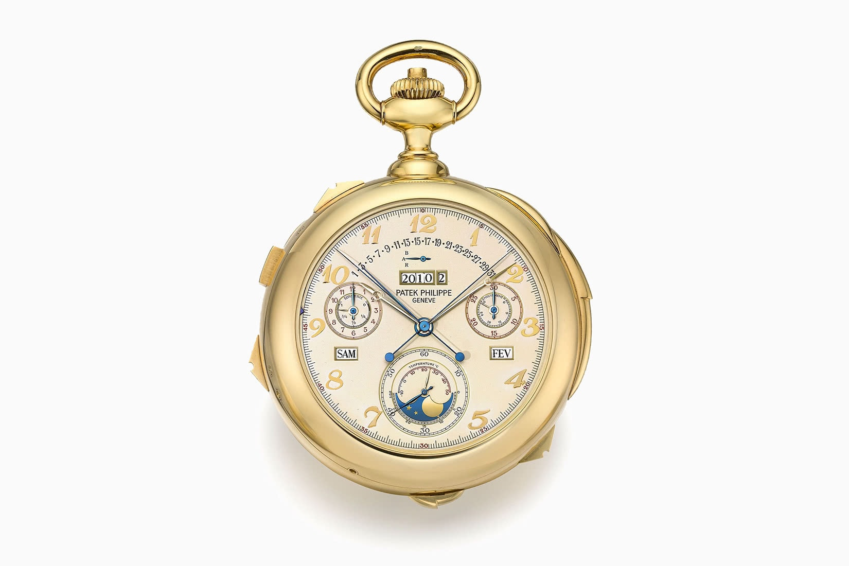 most expensive watches patek philippe yellow gold calibre 89 - Luxe Digital