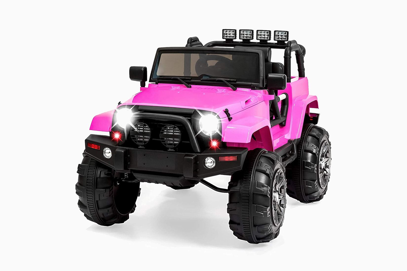best electric cars kids choice pink ride-on - Luxe Digital