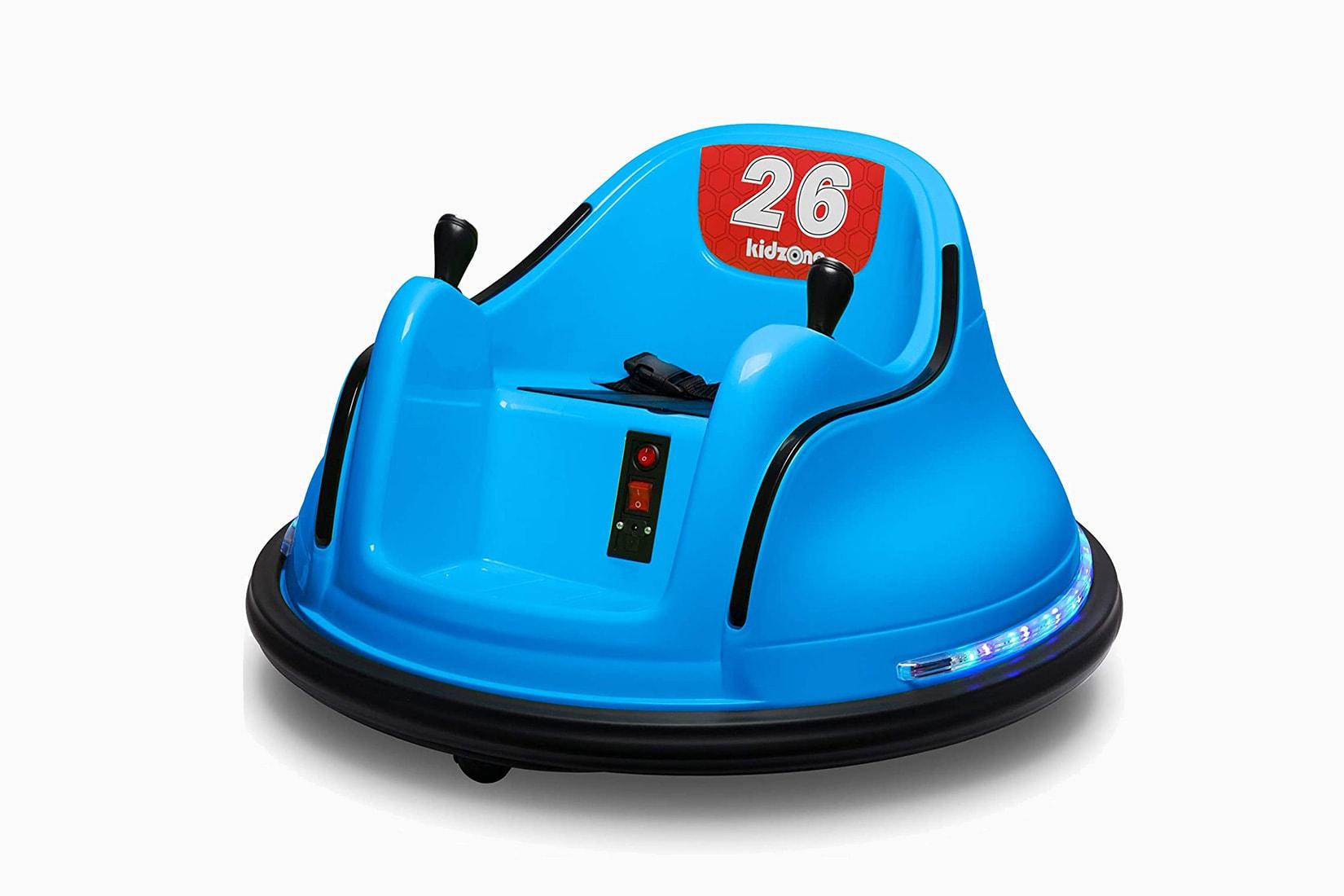 best electric cars kids kidzone indoor ride-on - Luxe Digital