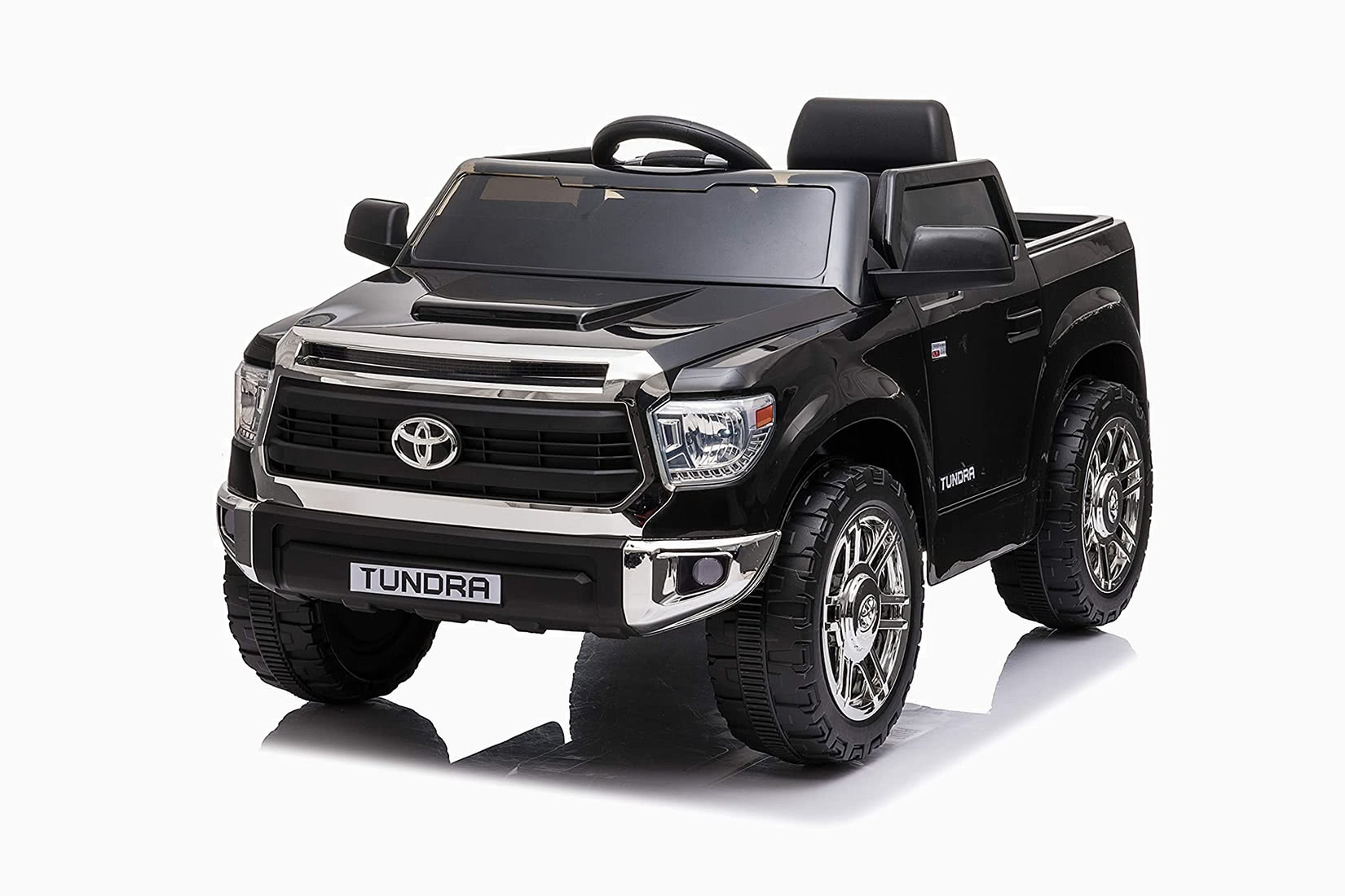 best electric cars kids toyota tundra pickup truck ride-on - Luxe Digital