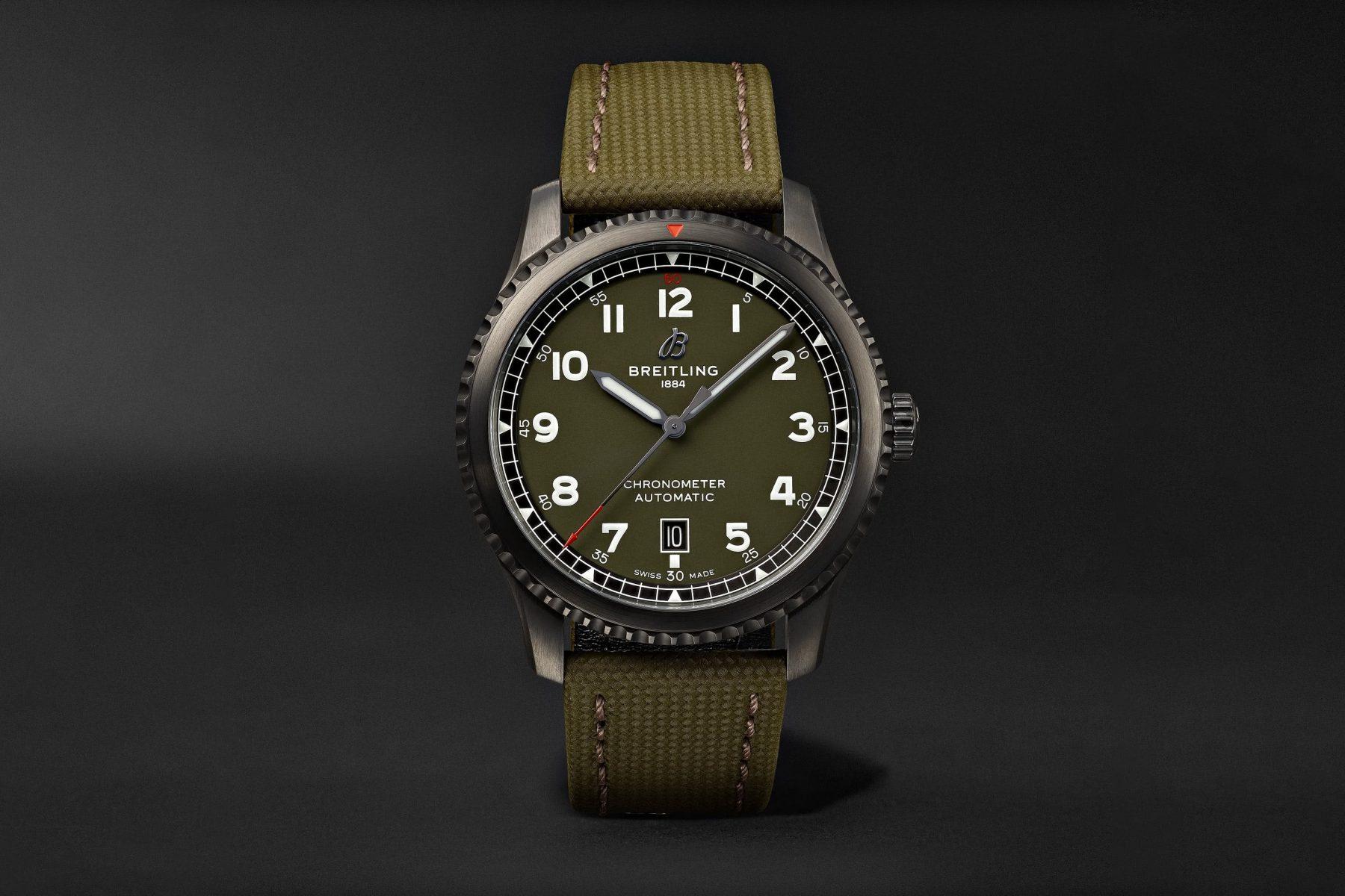 best men watch breitling aviator review - Luxe Digital