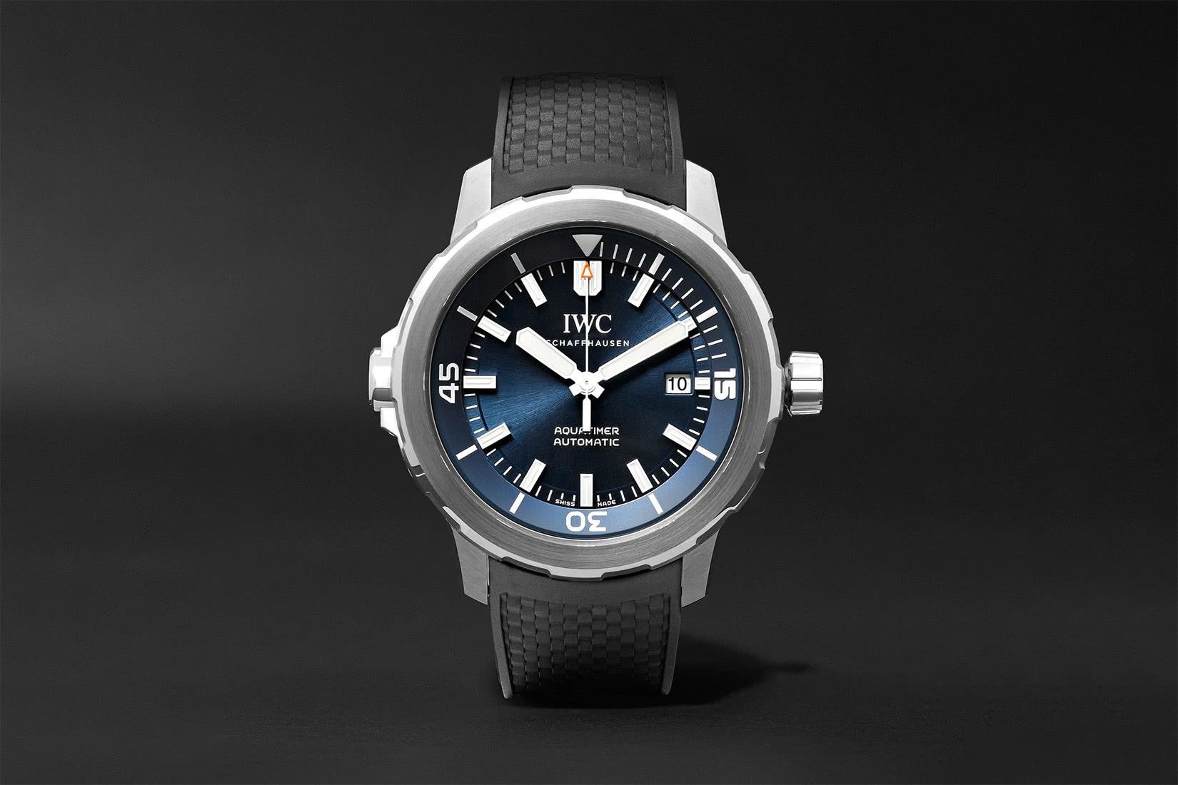 best men watch IWC aquatimer review - Luxe Digital
