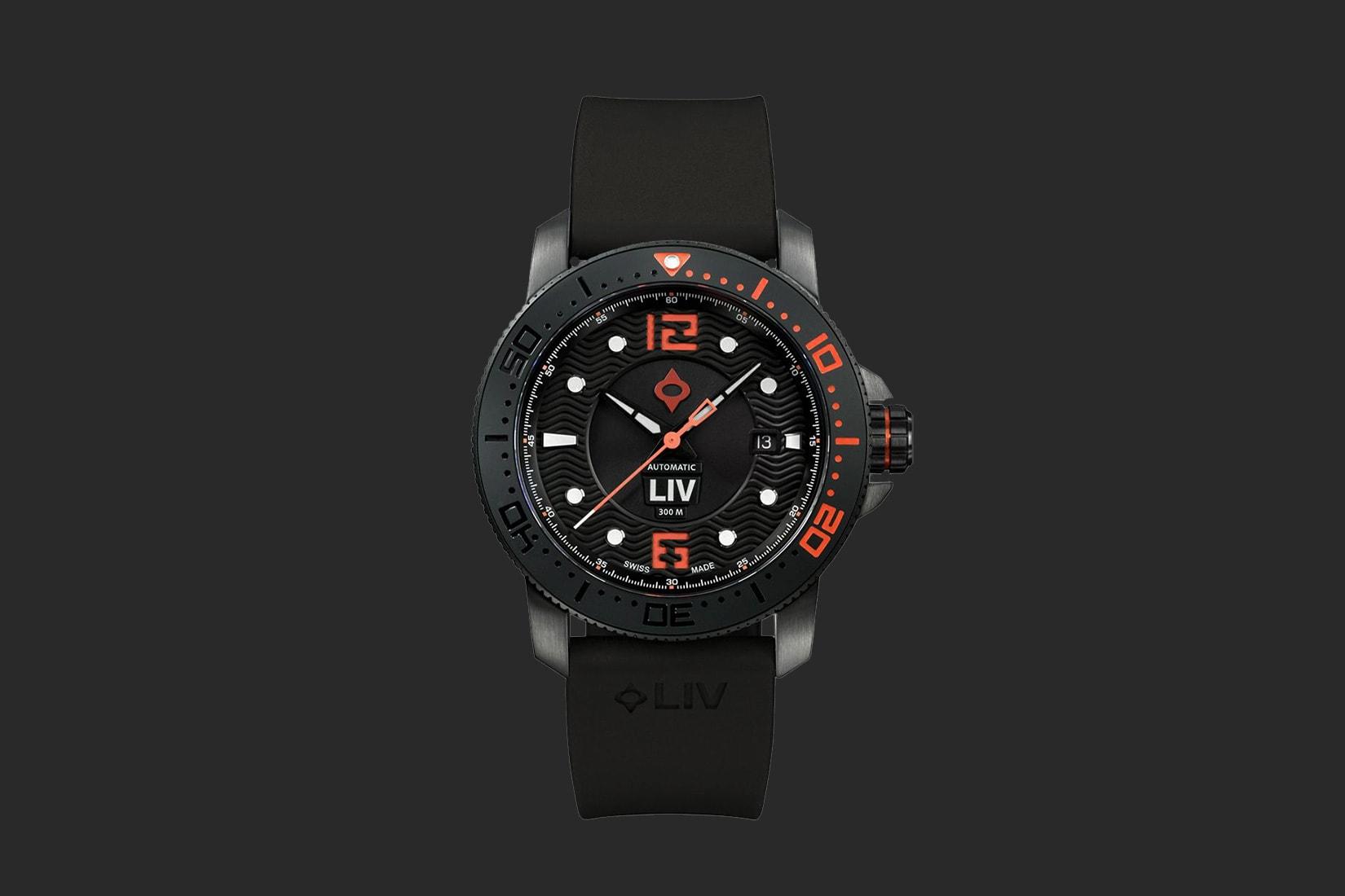 best men watch liv gx diver review - Luxe Digital