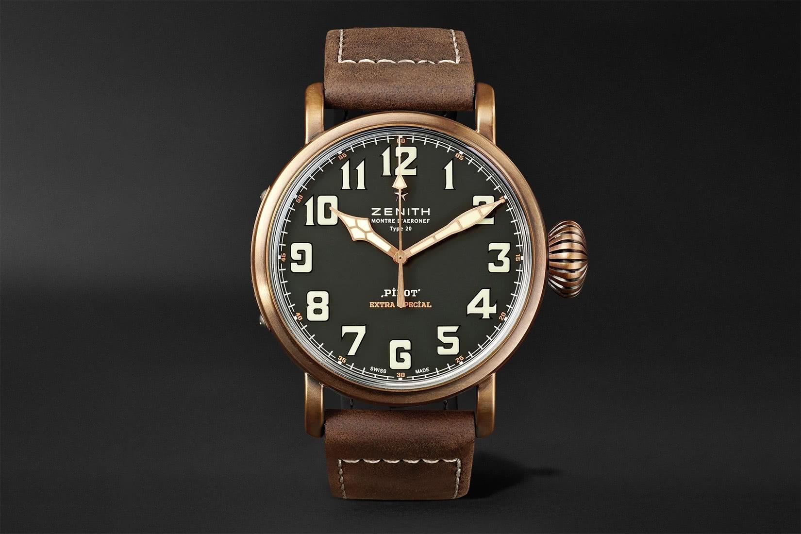best men watch zenith type 20 review - Luxe Digital
