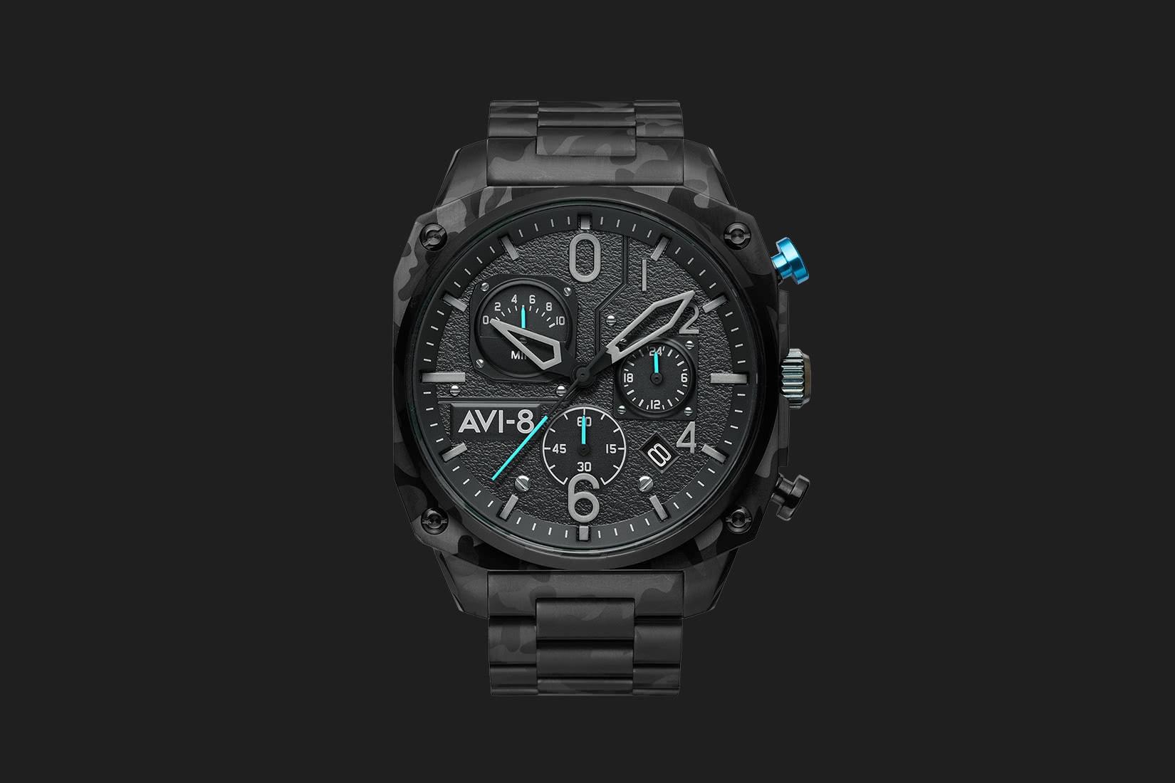 best men watches avi-8 retrograde chronograph review - Luxe Digital