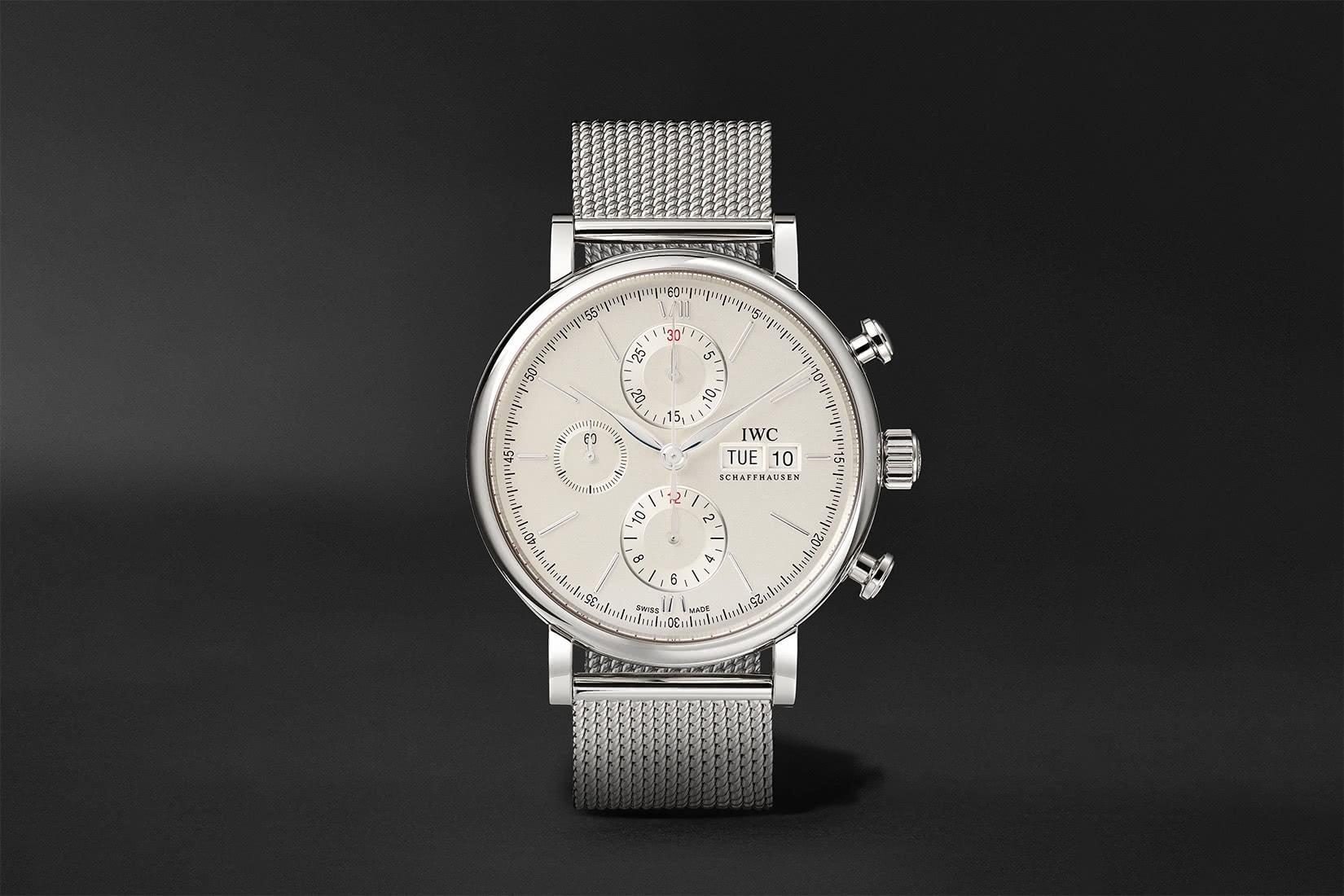 best men watches IWC portofino chronograph review - Luxe Digital