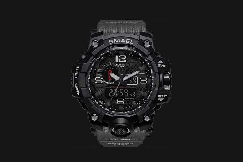 best men watches military SMAEL review - Luxe Digital