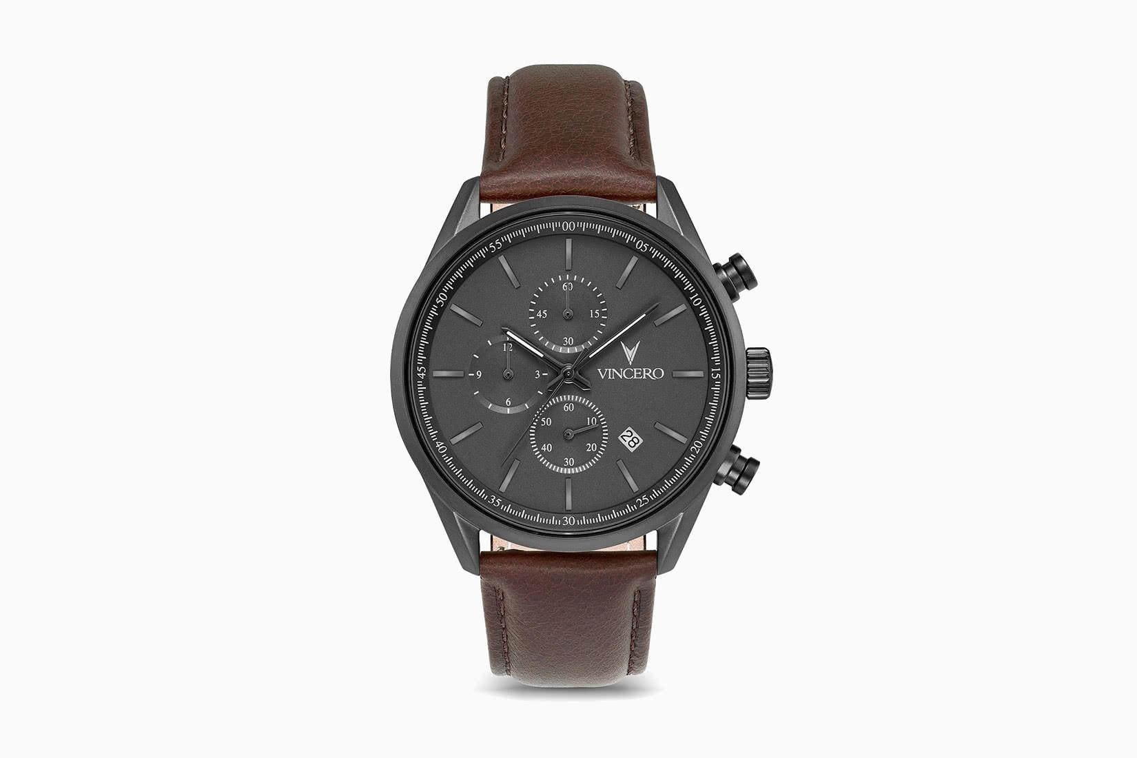 best men watches vincero chrono s review - Luxe Digital