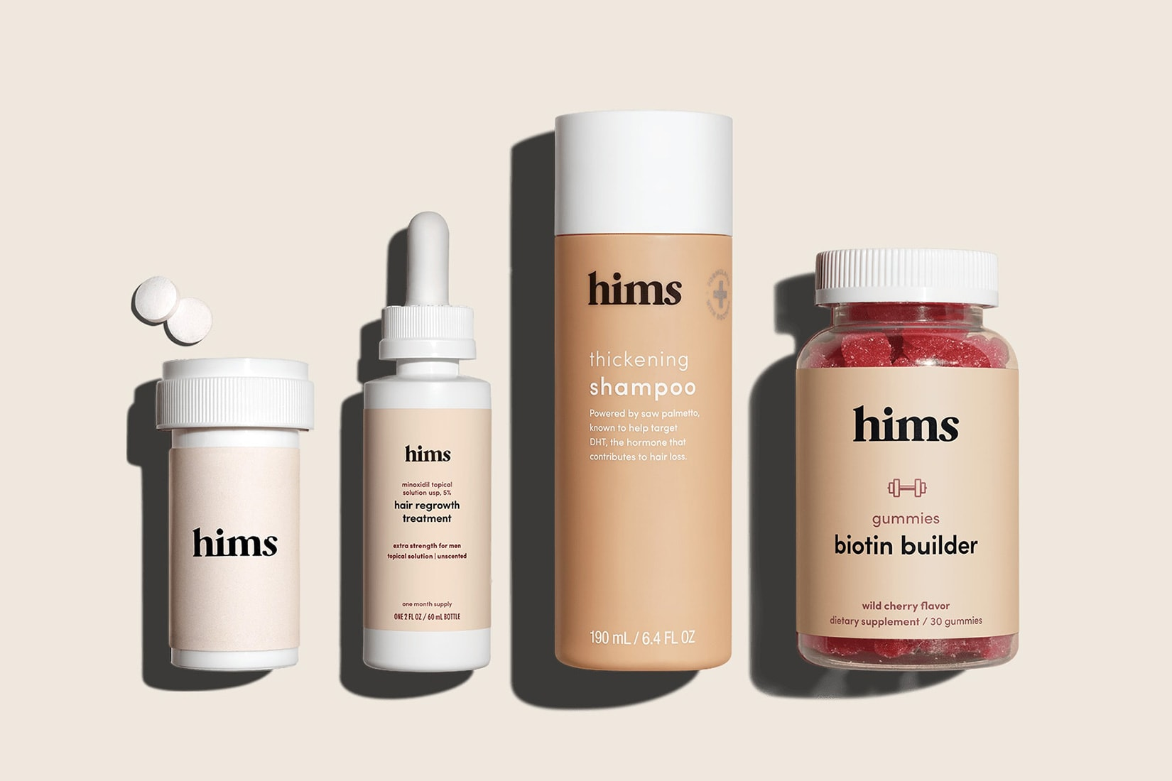 hims hair prescription customised hair power pack review - Luxe Digital