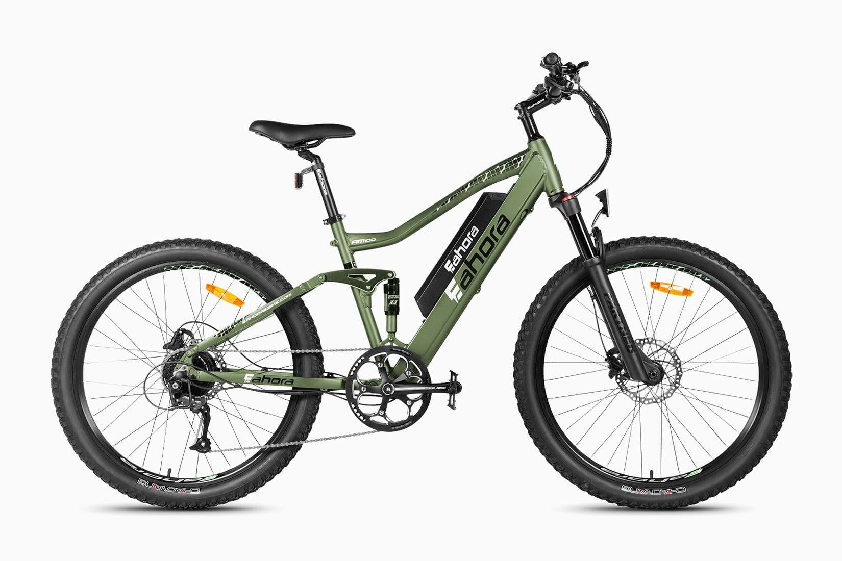 best electric bikes mountain eahora AM100 review - Luxe Digital