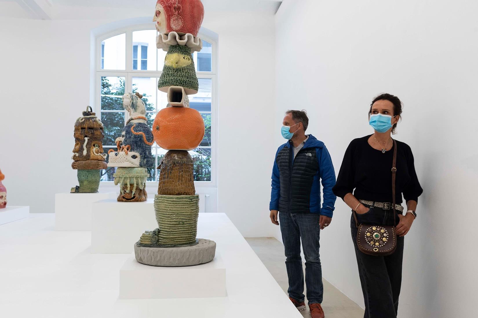 Sybille du Roy brussels art weekend event - Luxe Digital