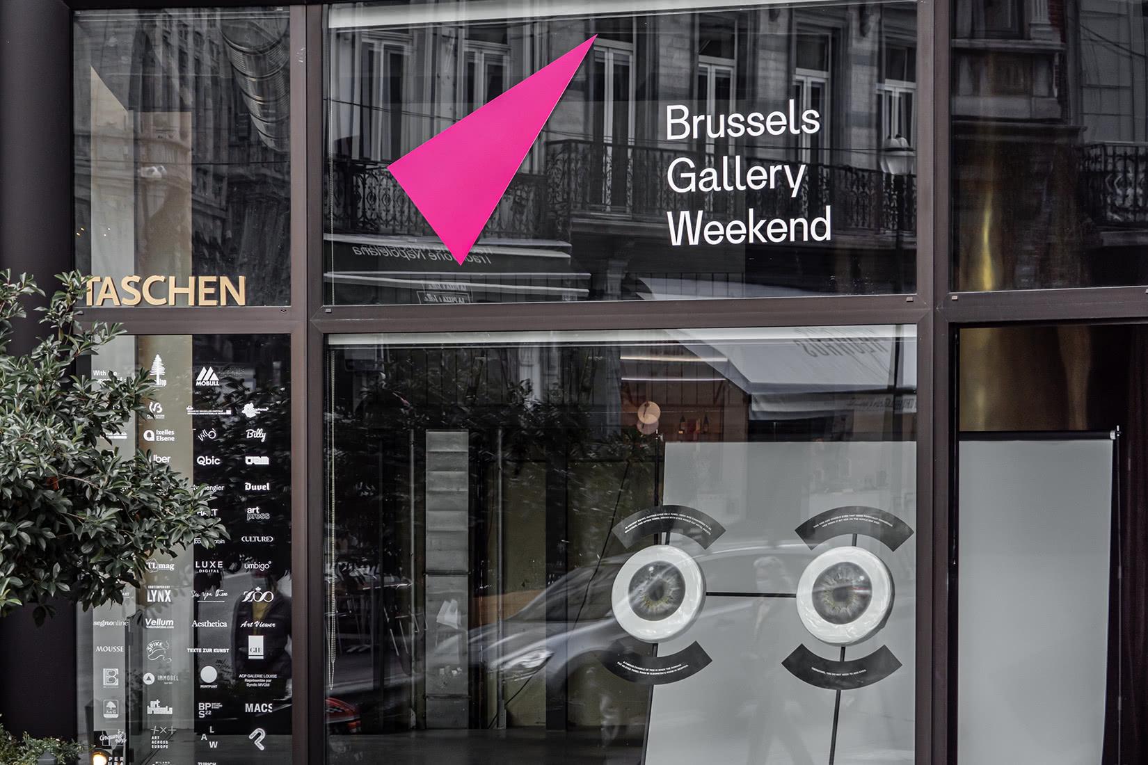 Sybille du Roy brussels art weekend gallery - Luxe Digital