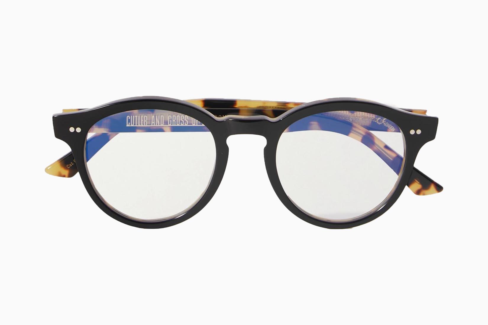 best blue light blocking glasses Cutler and Gross review Luxe Digital