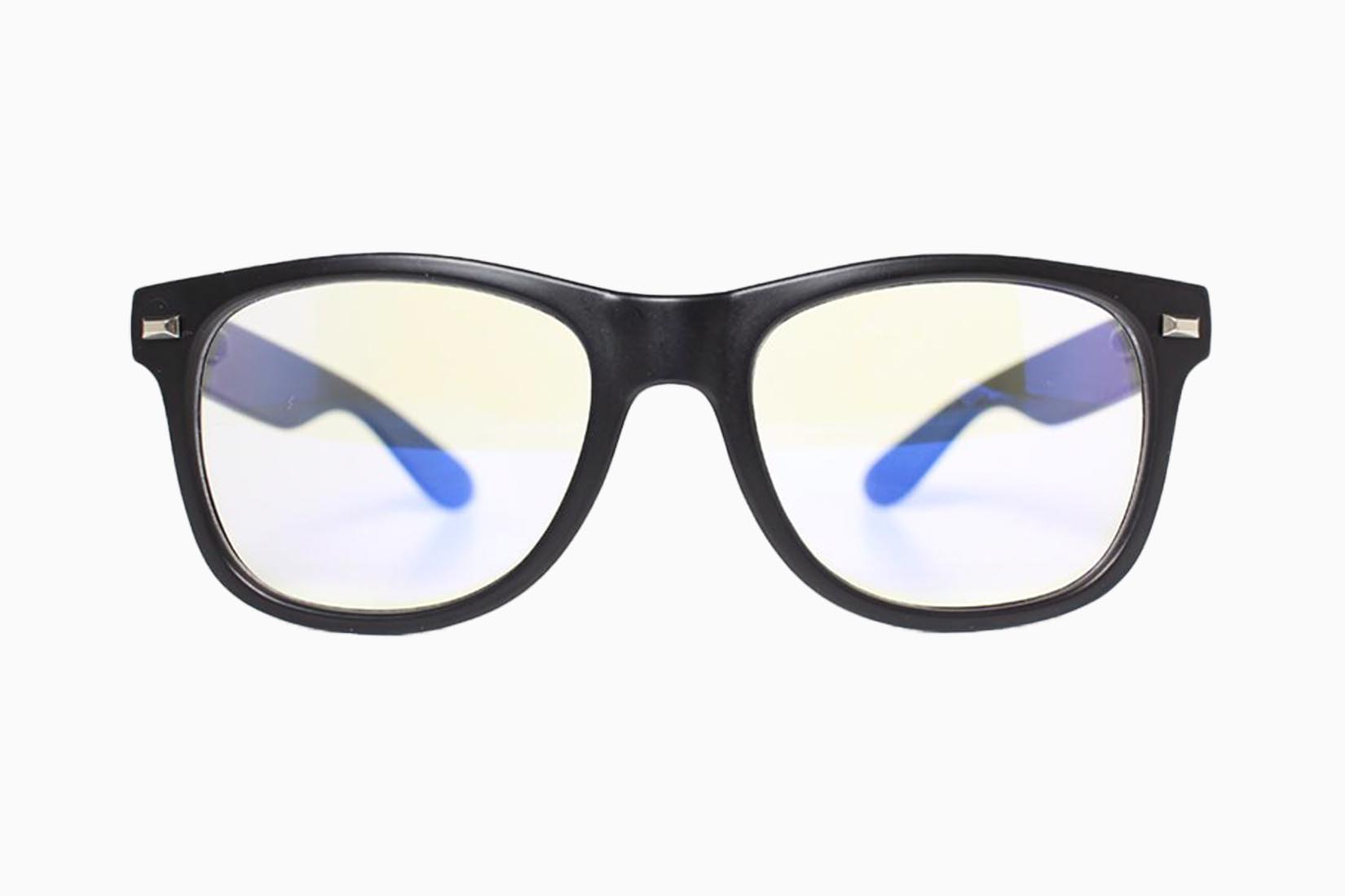 best blue light blocking glasses Tomahawk Shades review Luxe Digital