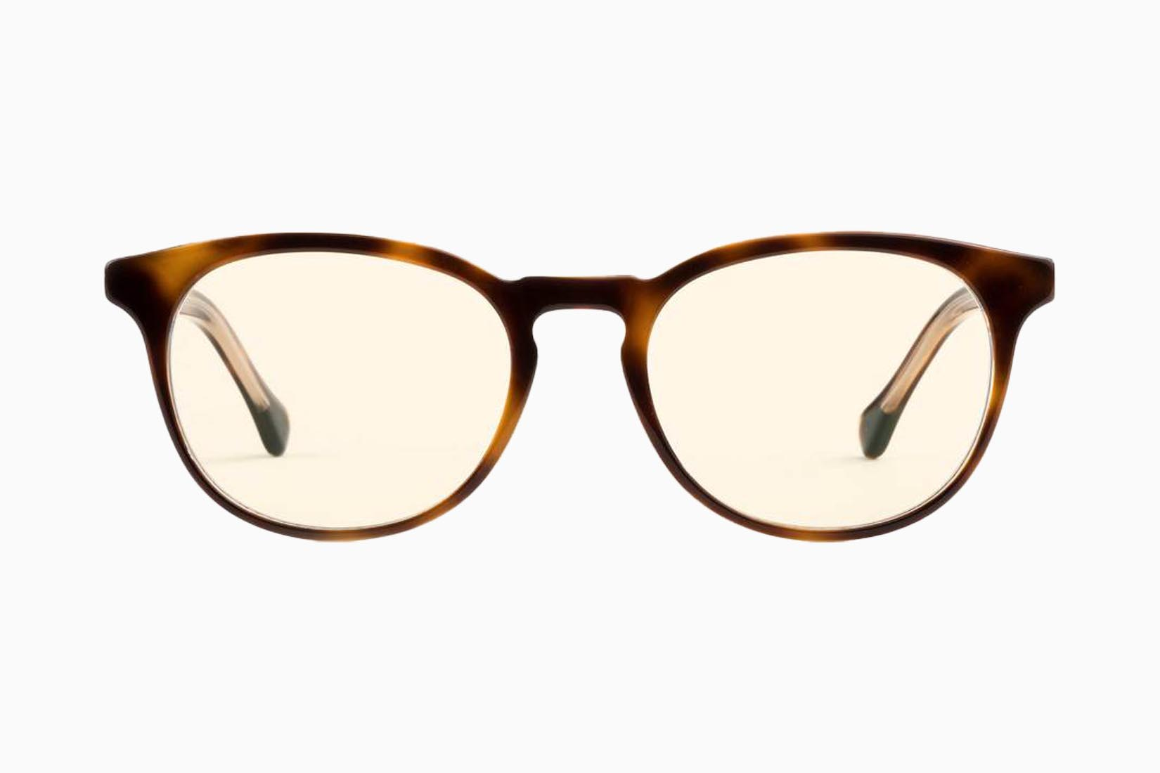 best blue light blocking glasses Felix Gray review Luxe Digital