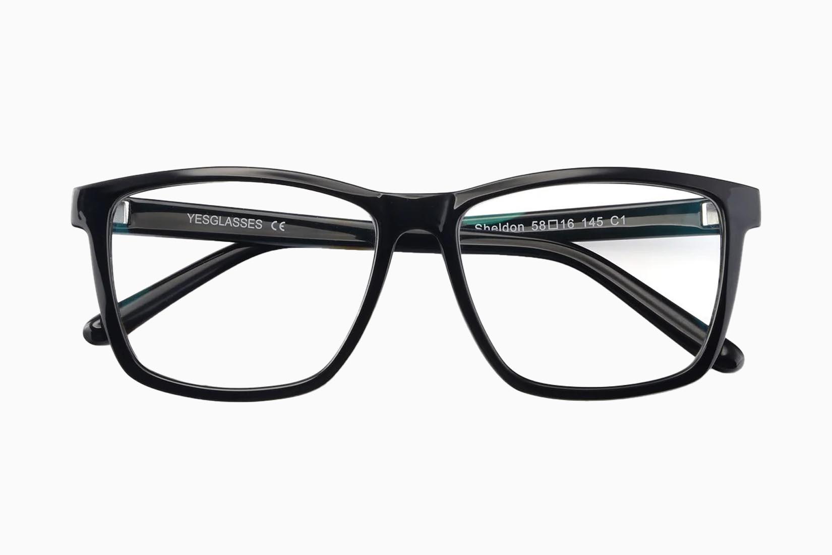 best blue light blocking glasses Yesglasses Sheldon review Luxe Digital