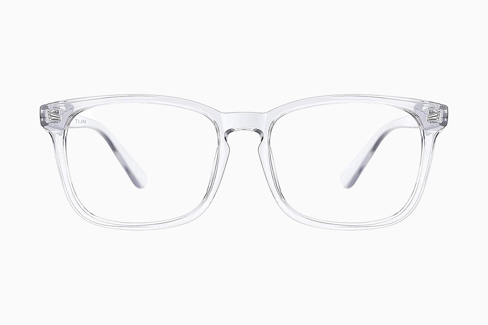 best blue light blocking glasses tijn review Luxe Digital