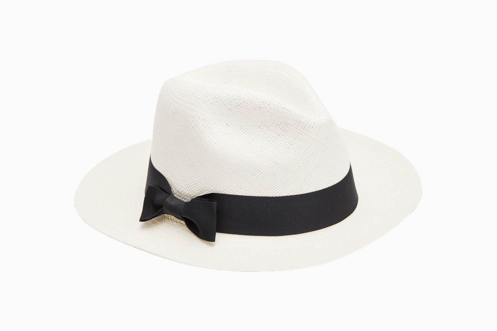 best sun hats women review Cuyana Panama Luxe Digital