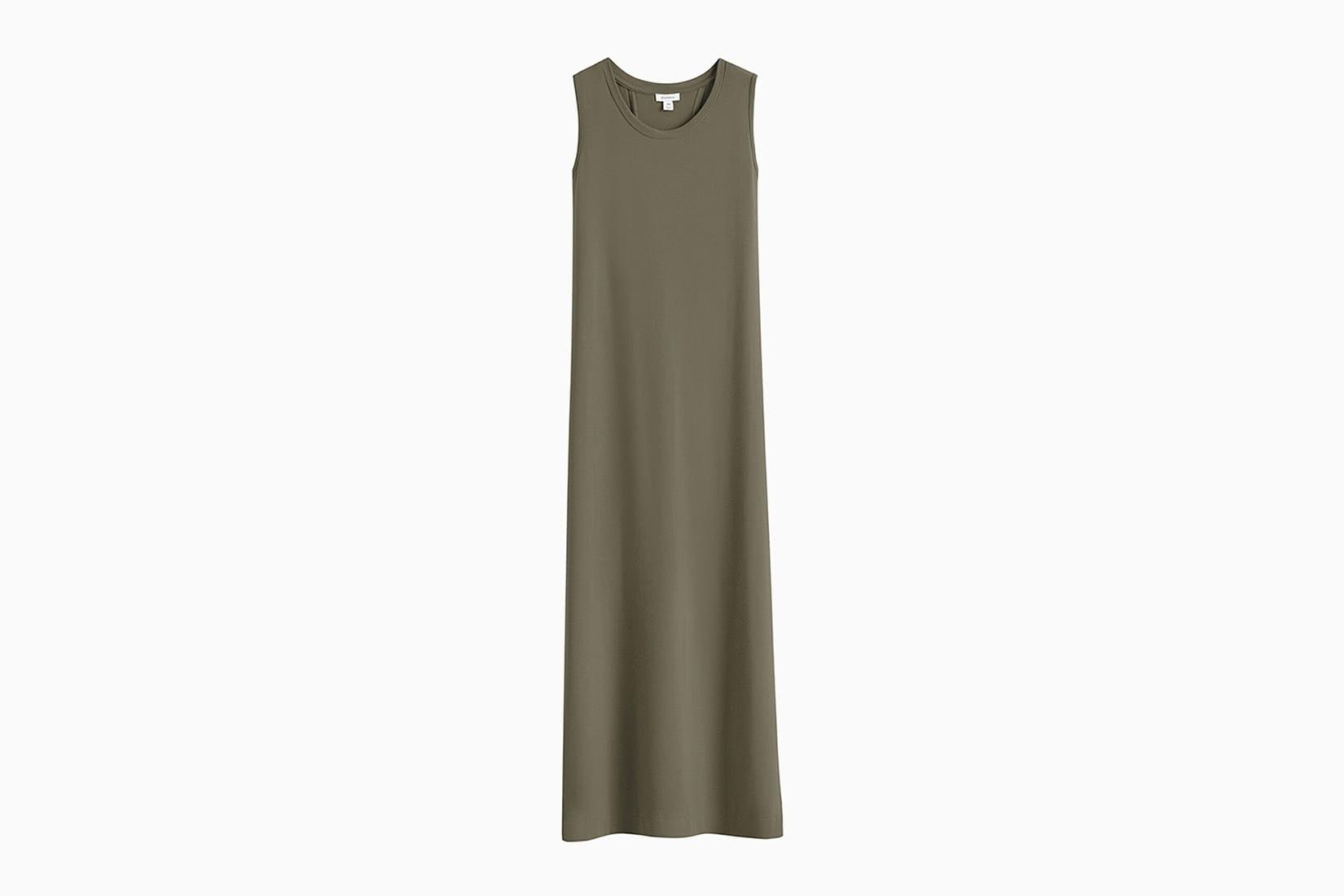 Cuyana drape back dress review - Luxe Digital