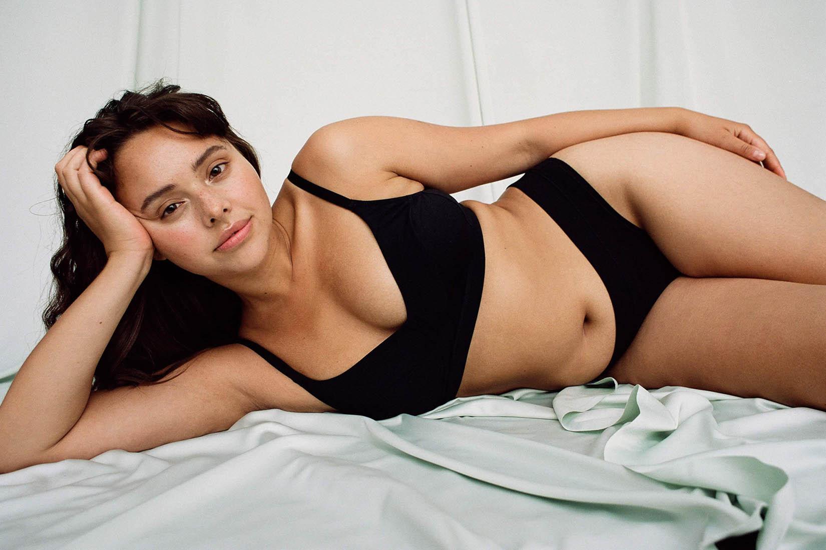 best lingerie brands Organic Basics review Luxe Digital