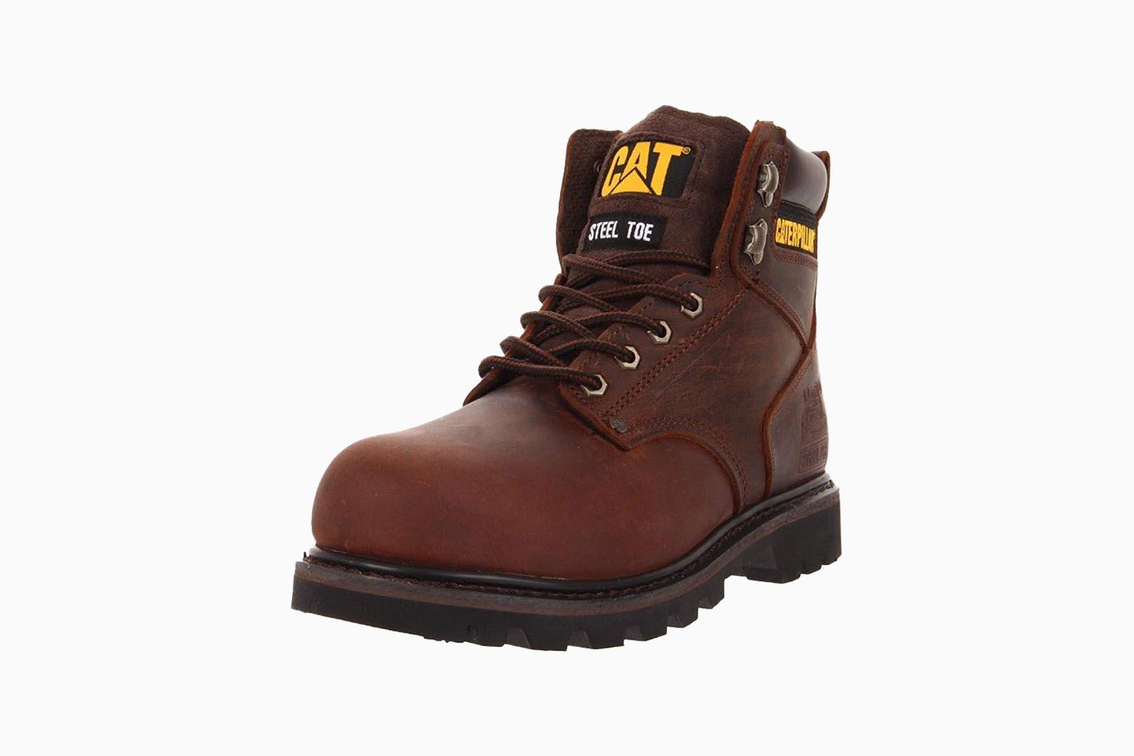 best boots men caterpillar second shift steel toe work boot review Luxe Digital