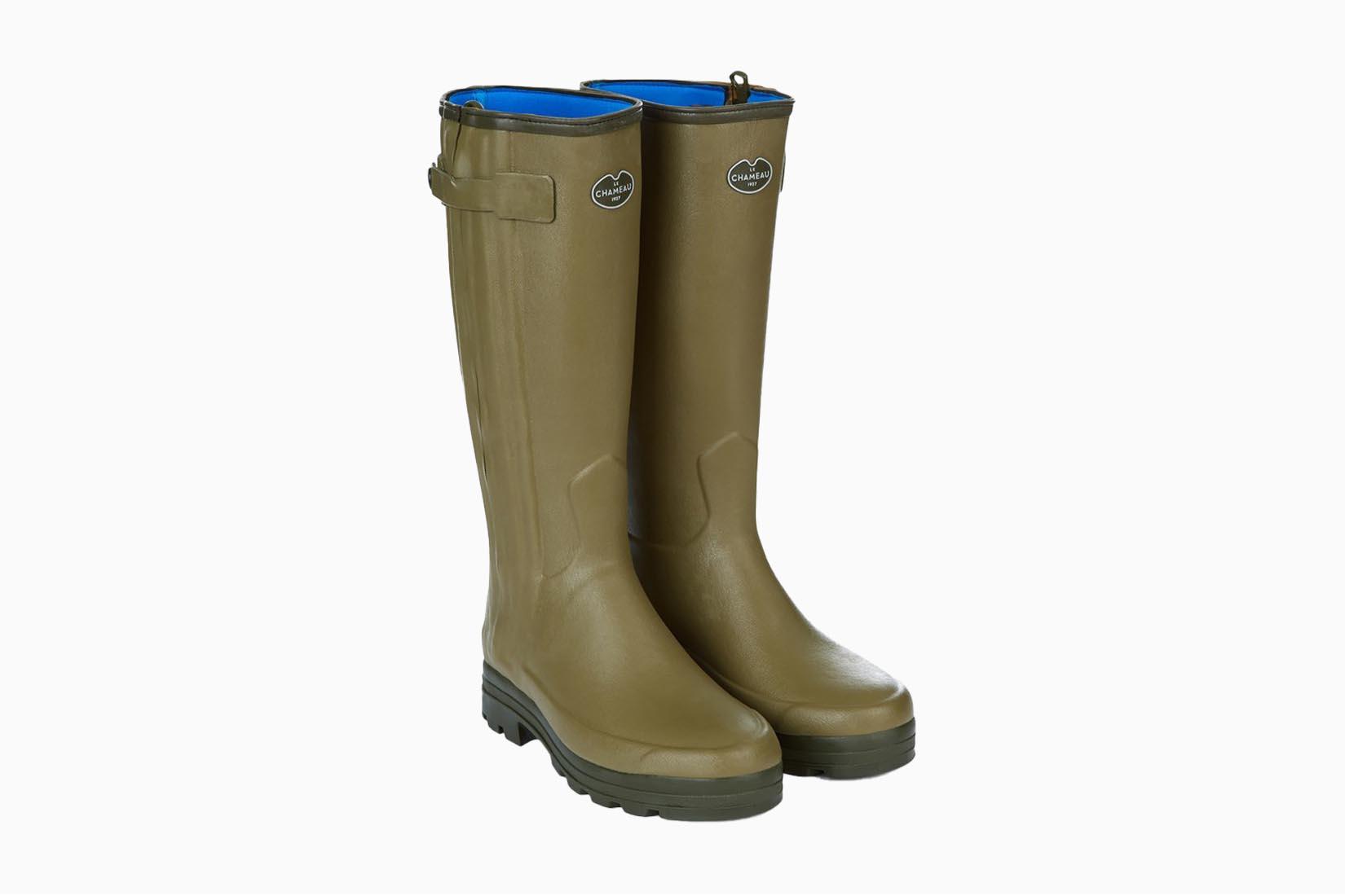 best boots men le chameau chasseur boots review Luxe Digital