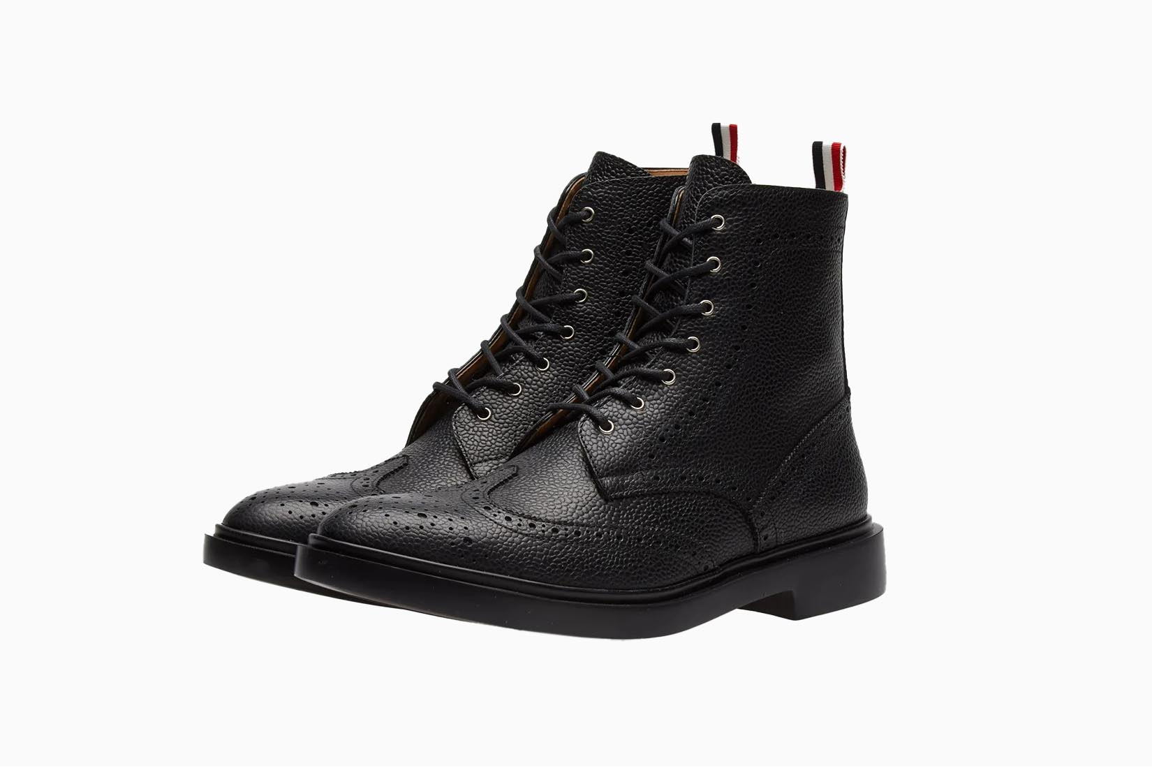 best boots men thom browne longwing boots review Luxe Digital