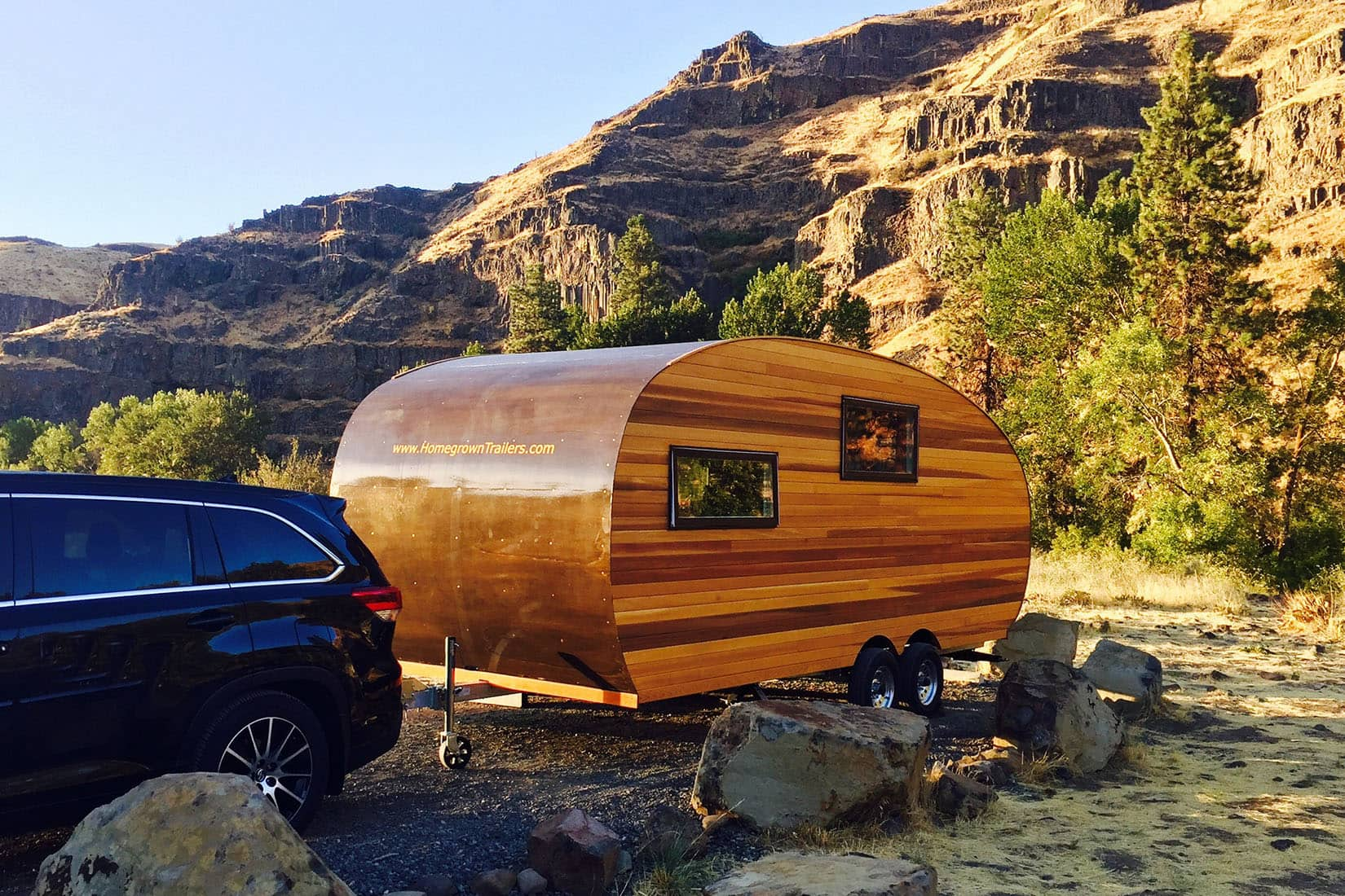 best travel trailers homegrown trailers review Luxe Digital