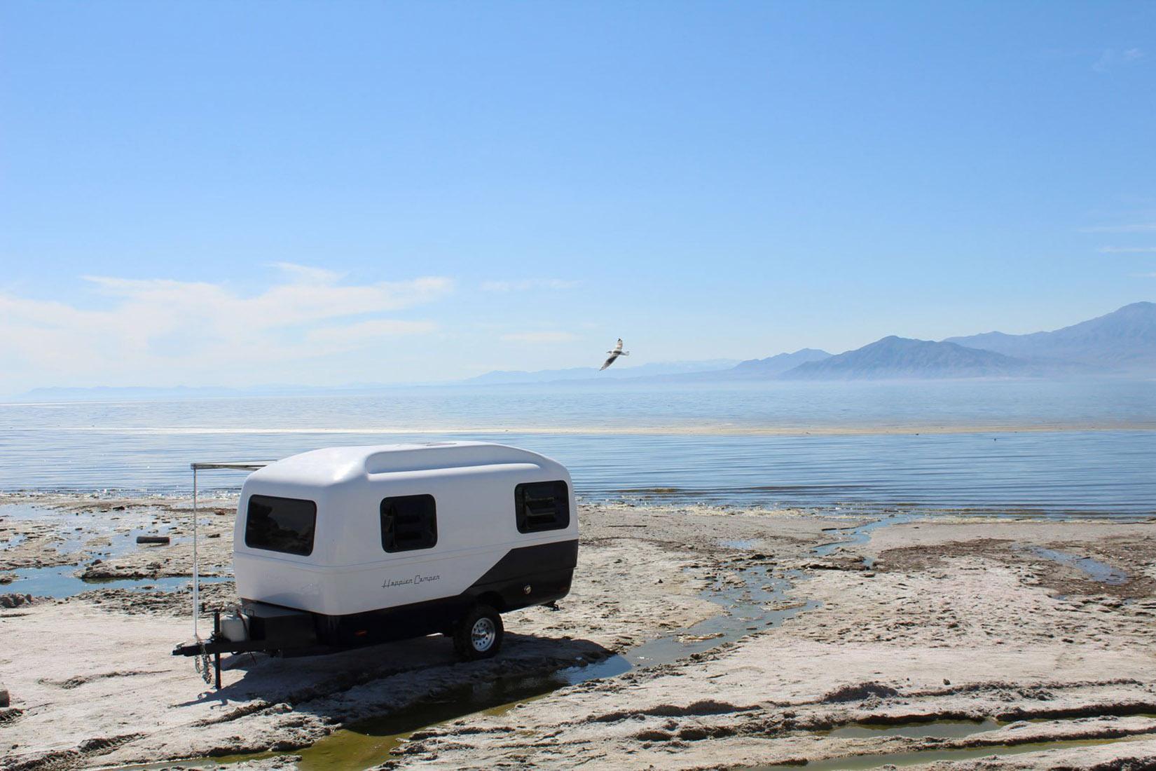 best travel trailers happier camper review Luxe Digital