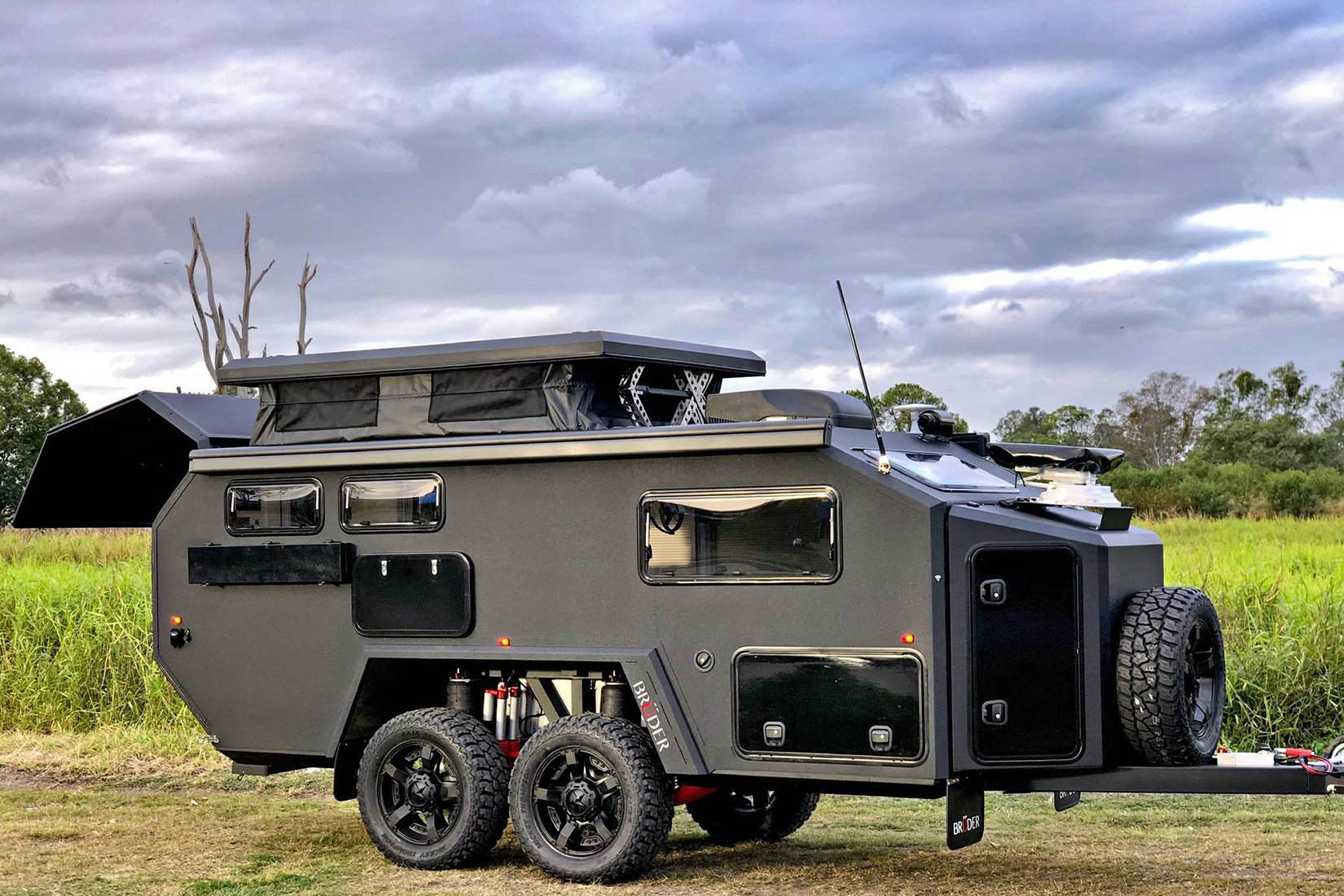 best travel trailers bruder x review Luxe Digital