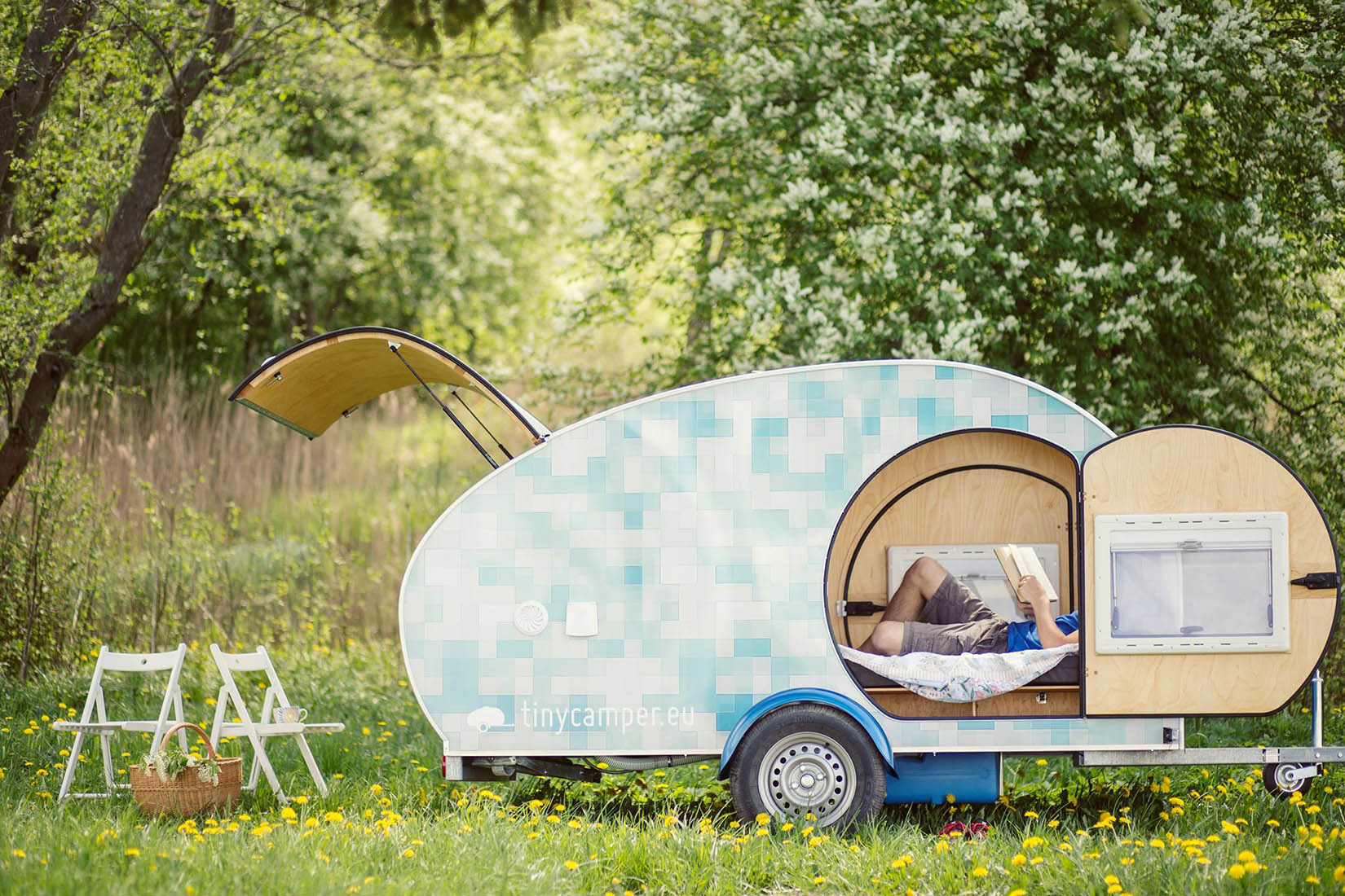 best travel trailers tiny camper review Luxe Digital
