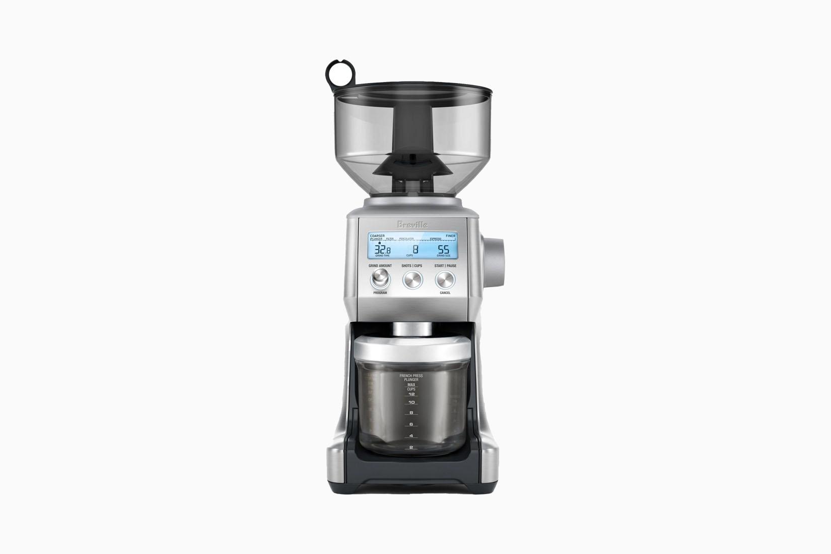 best drip coffee grinders breville review Luxe Digital