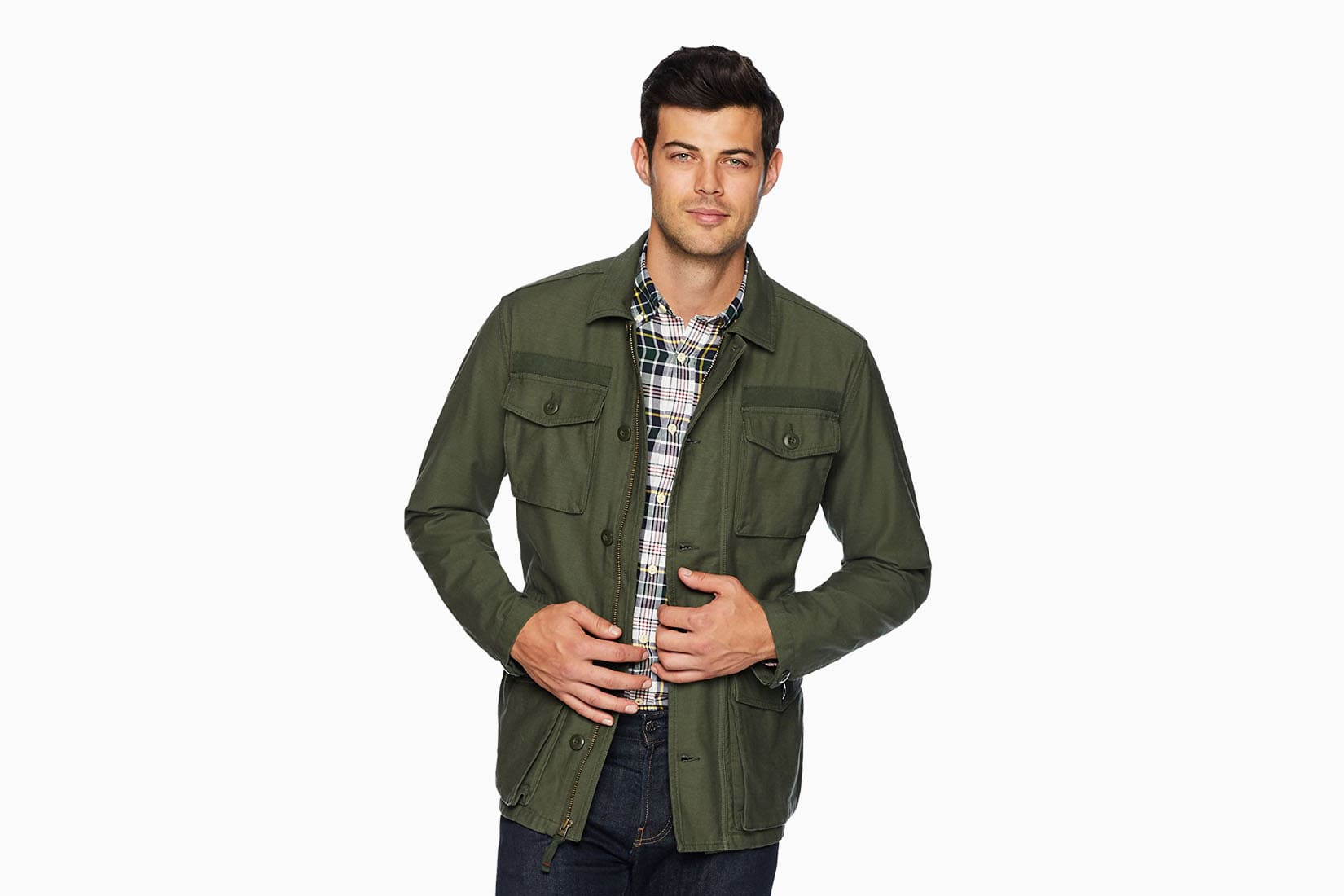 best men field jackets goodthreads review Luxe Digital