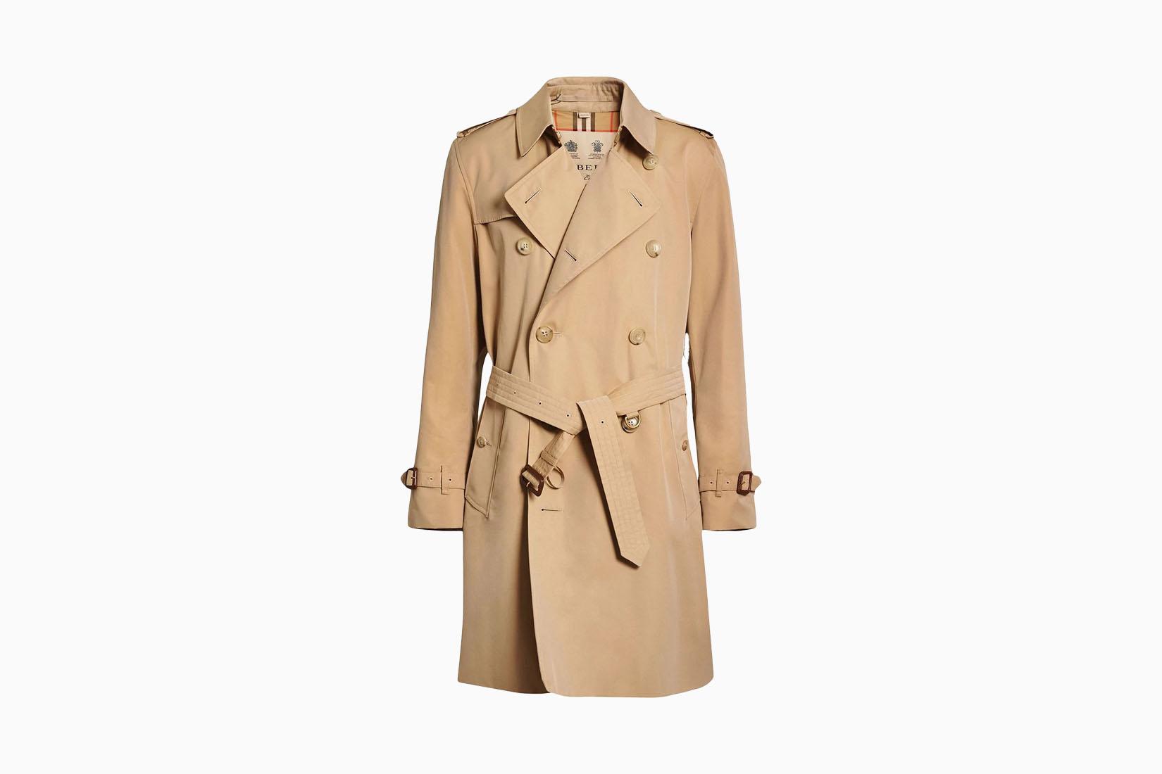 best men trench coats burberry kensington review Luxe Digital