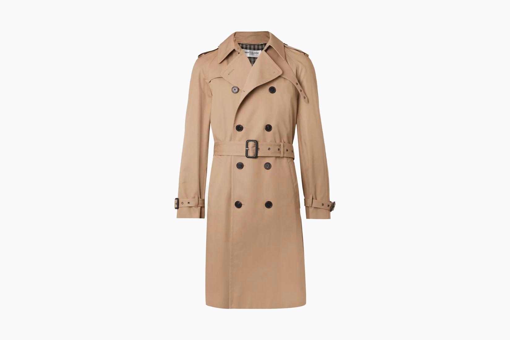 best men trench coats saint laurent review Luxe Digital