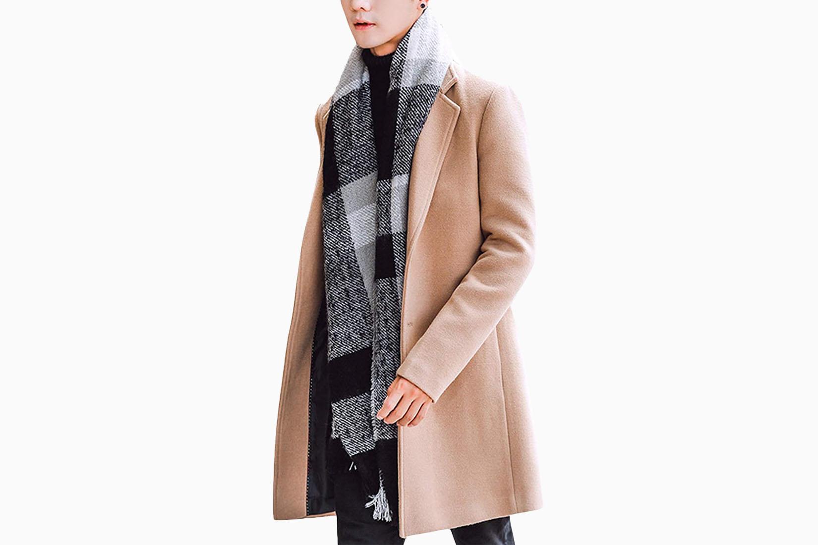 best men trench coats springrain review Luxe Digital