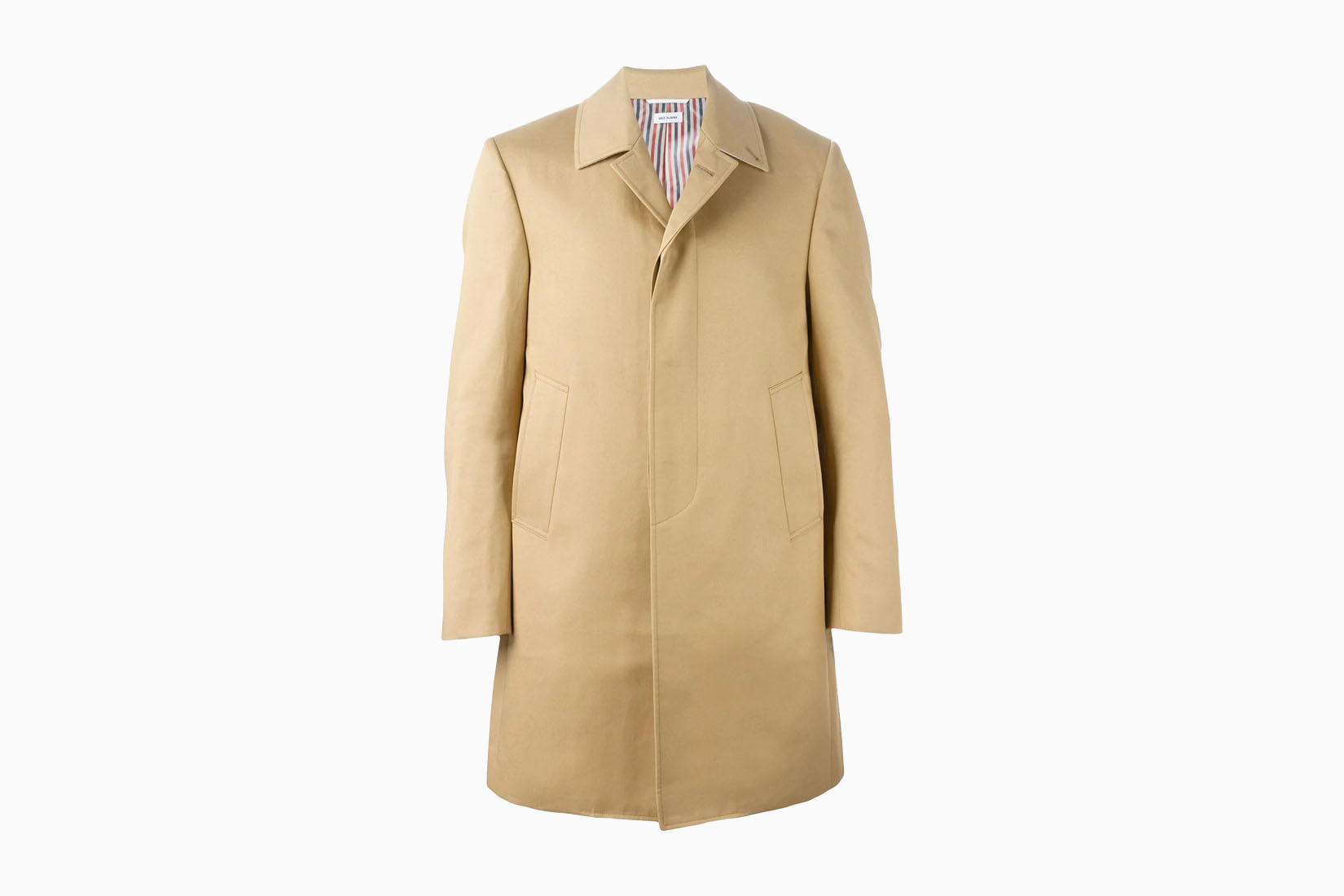 best men trench thom browne review Luxe Digital