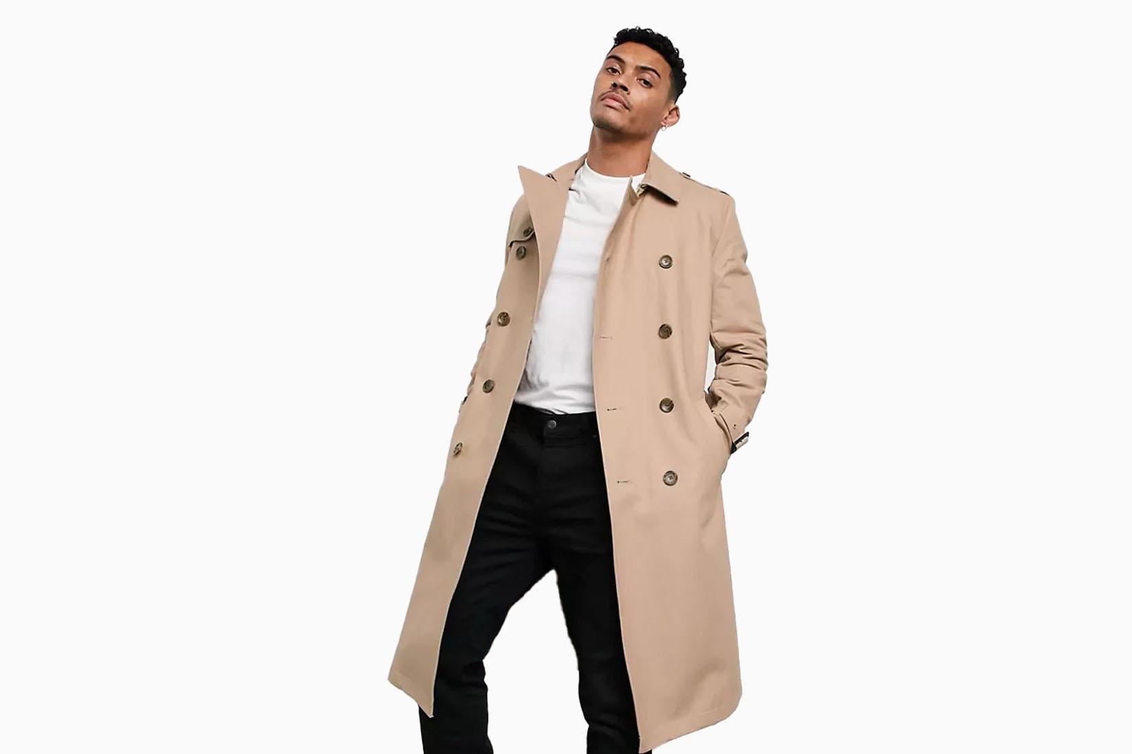 best men trench coats asos longline review Luxe Digital
