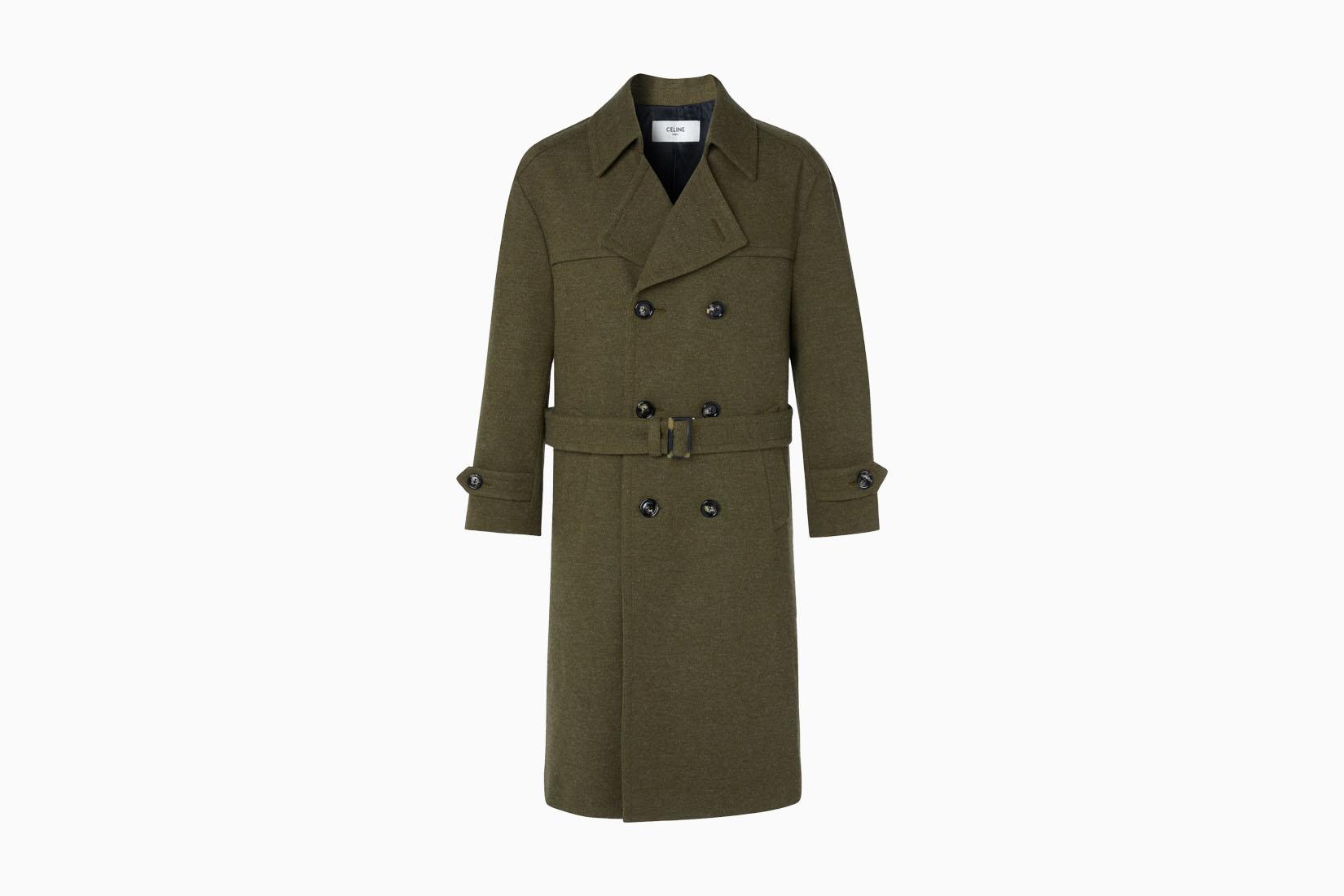 best men trench coats celine homme review Luxe Digital