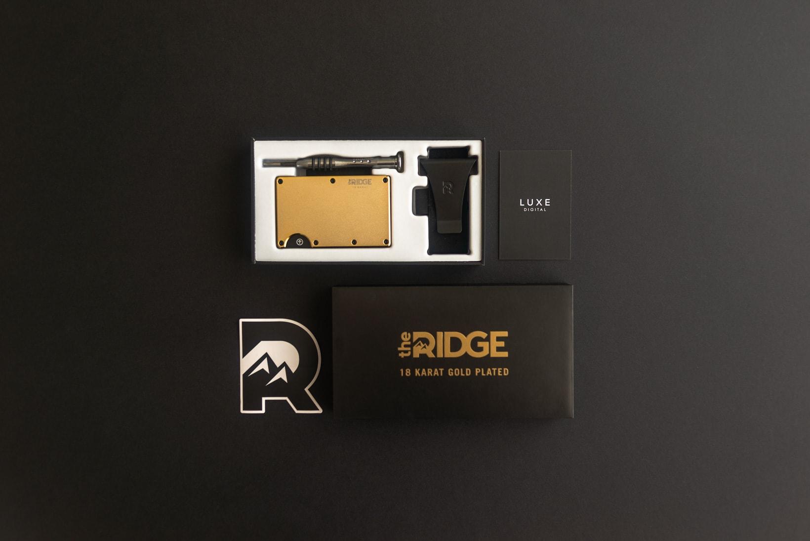 ridge wallet unboxing review - Luxe Digital