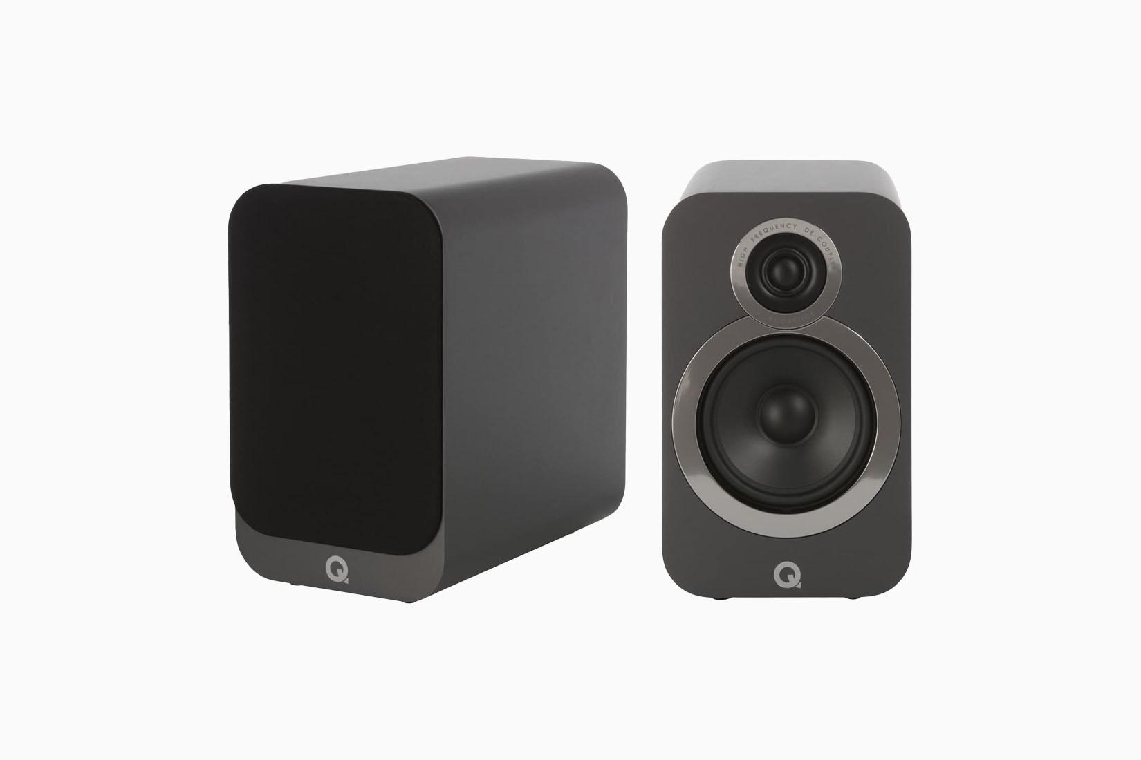 best bookshelf speakers q acoustics review Luxe Digital