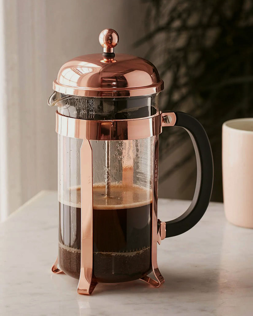 how to use French press coffee Bodum luxe digital
