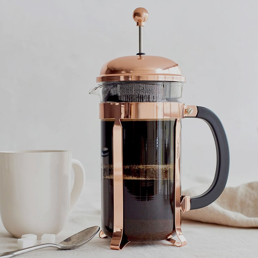 how to use French press coffee Bodum machine luxe digital