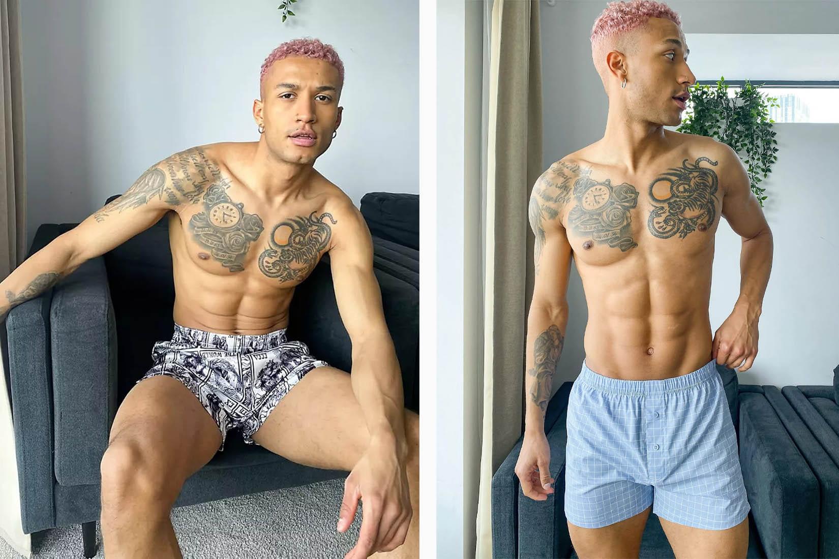 best underwear men asos design review Luxe Digital