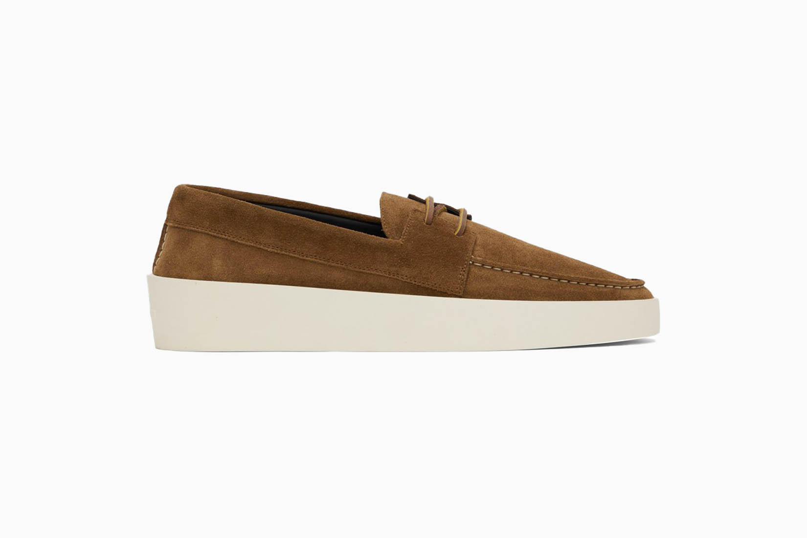 best casual shoes men fear of god suede boat shoes review Luxe Digital