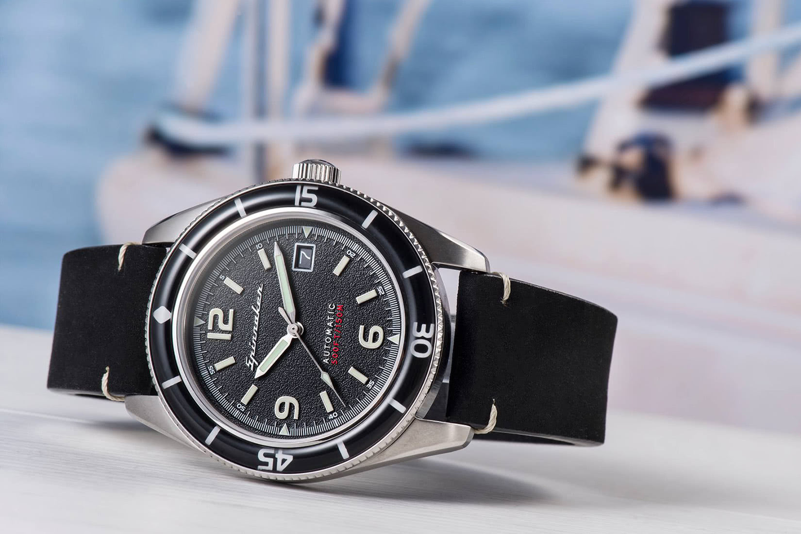 Spinnaker watches review Bradner boat - Luxe Digital
