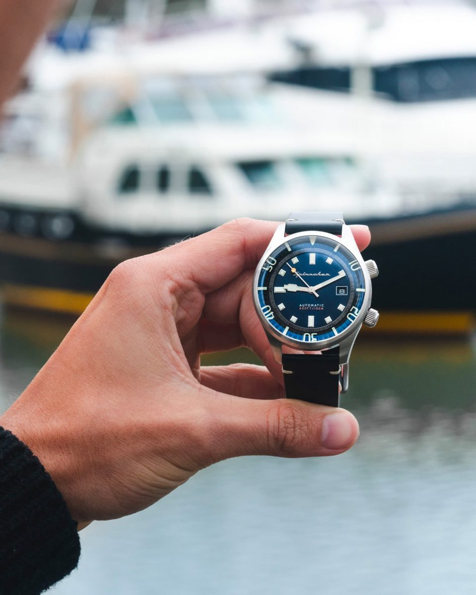 Spinnaker watches review Bradner diving - Luxe Digital